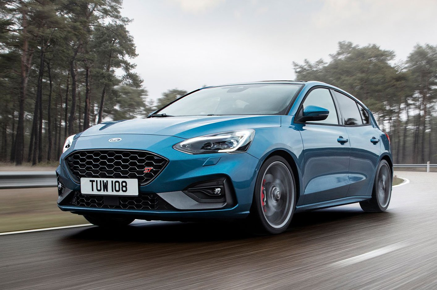 2019 Ford Focus St Front