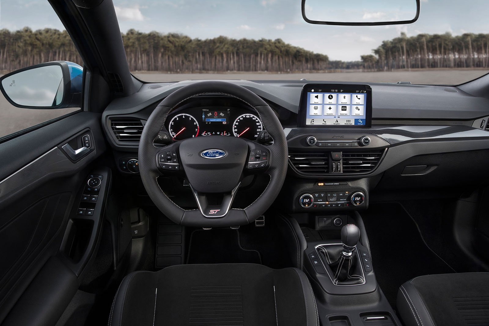 2019 Ford Focus ST - dashboard
