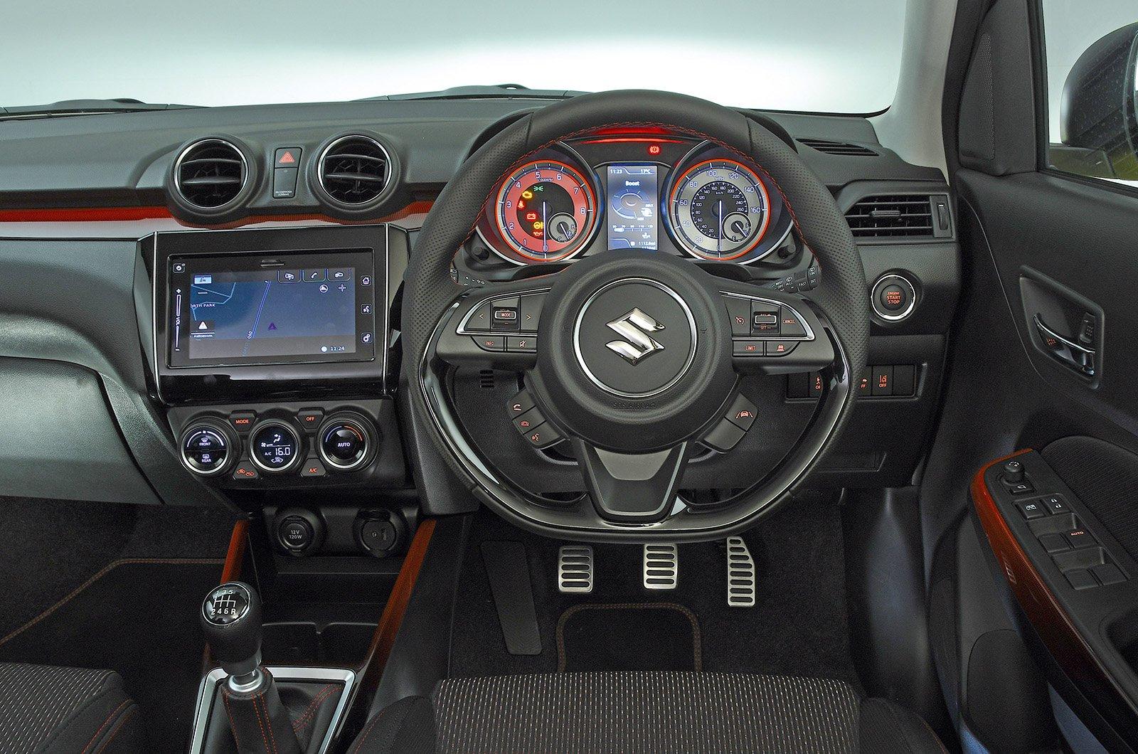 Suzuki Swift Sport interior