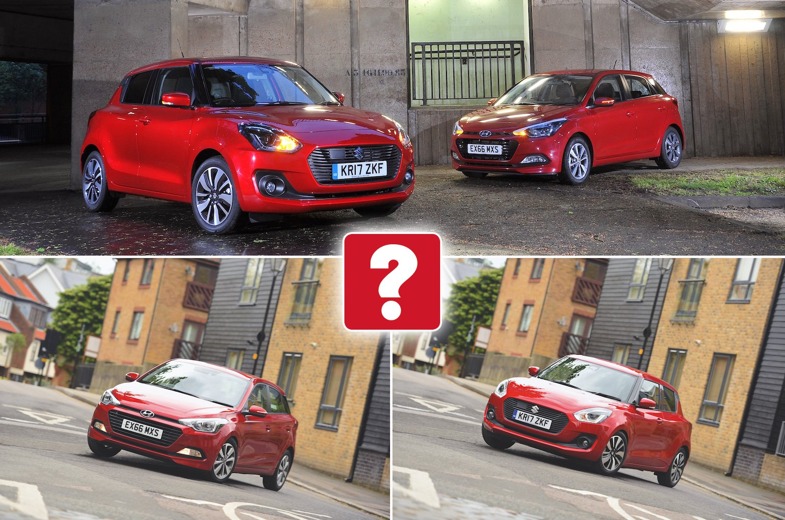 Used test: Hyundai i20 vs Suzuki Swift