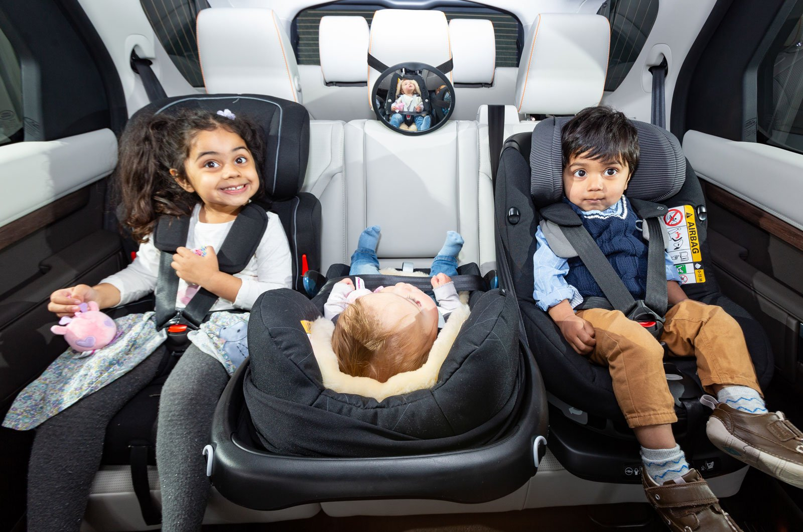 best car for three child car seats