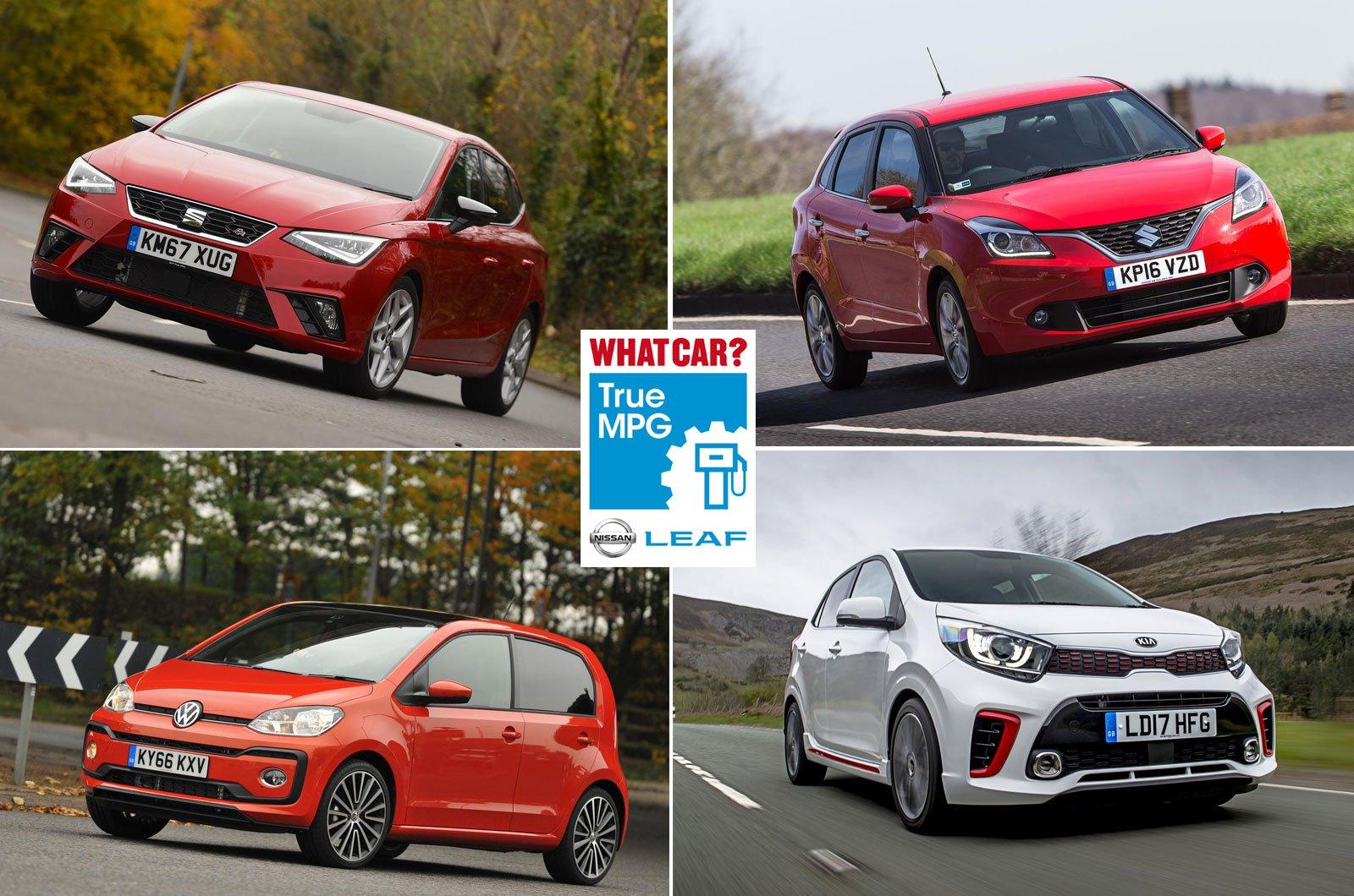 Seat Ibiza, Suzuki Baleno, Volkswagen Up, Kia Picanto