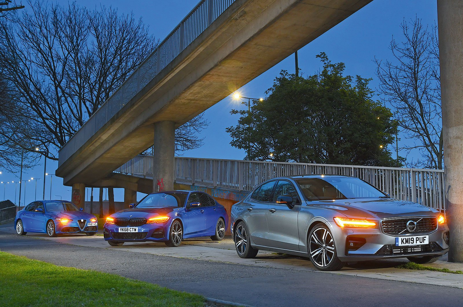 Volvo V60, BMW 3 Series, Alfa Romeo Giulia