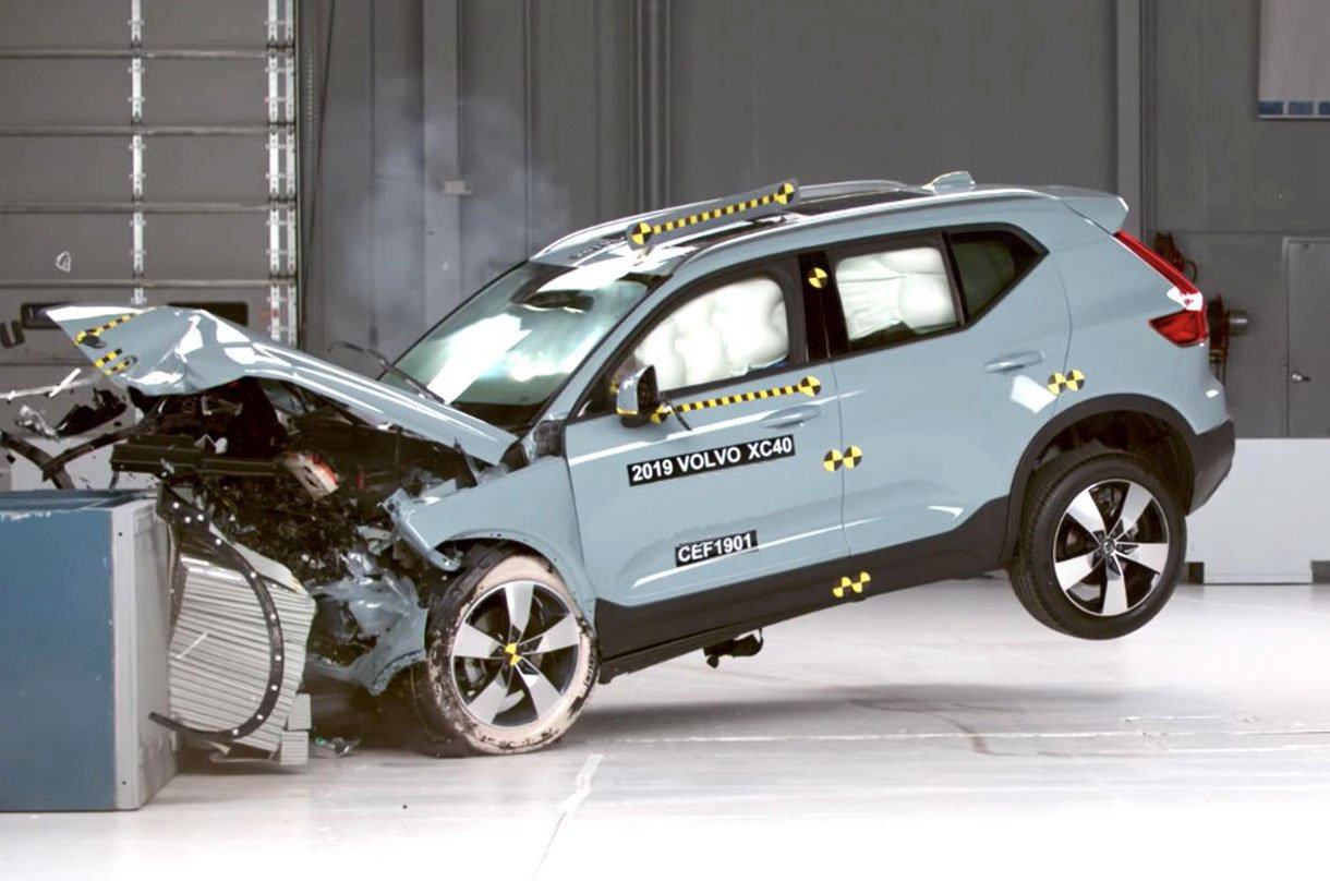 Volvo XC40 Euro NCAP crash test