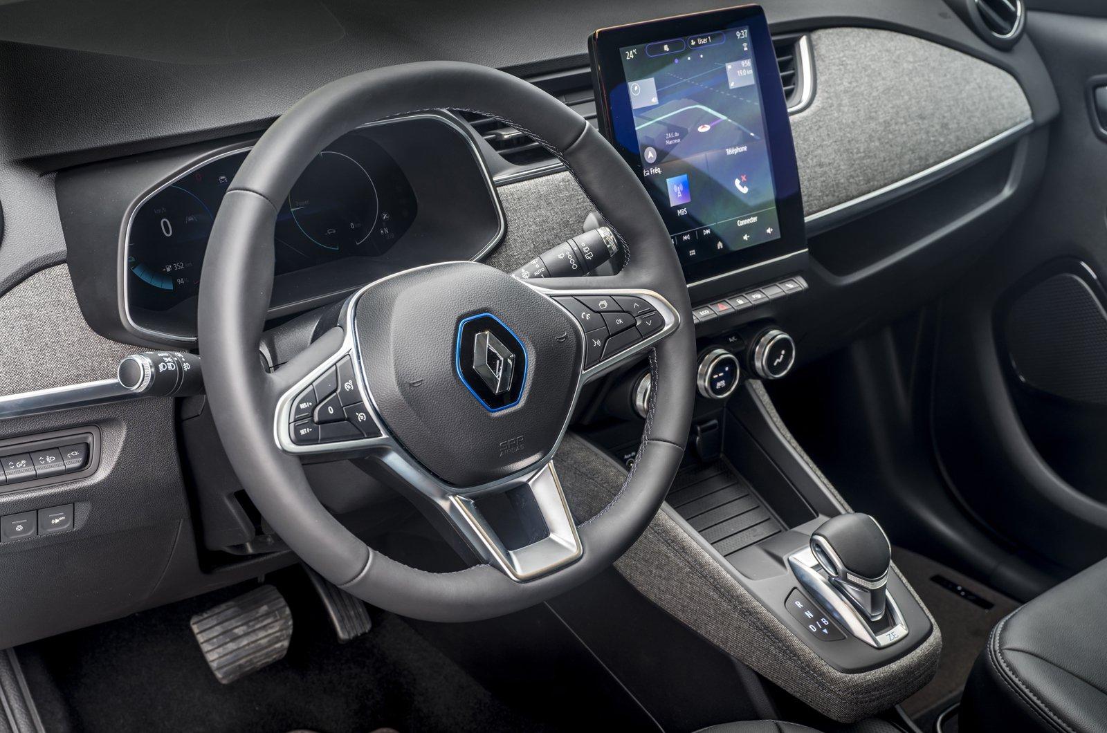 2020 Renault Zoe dashboard