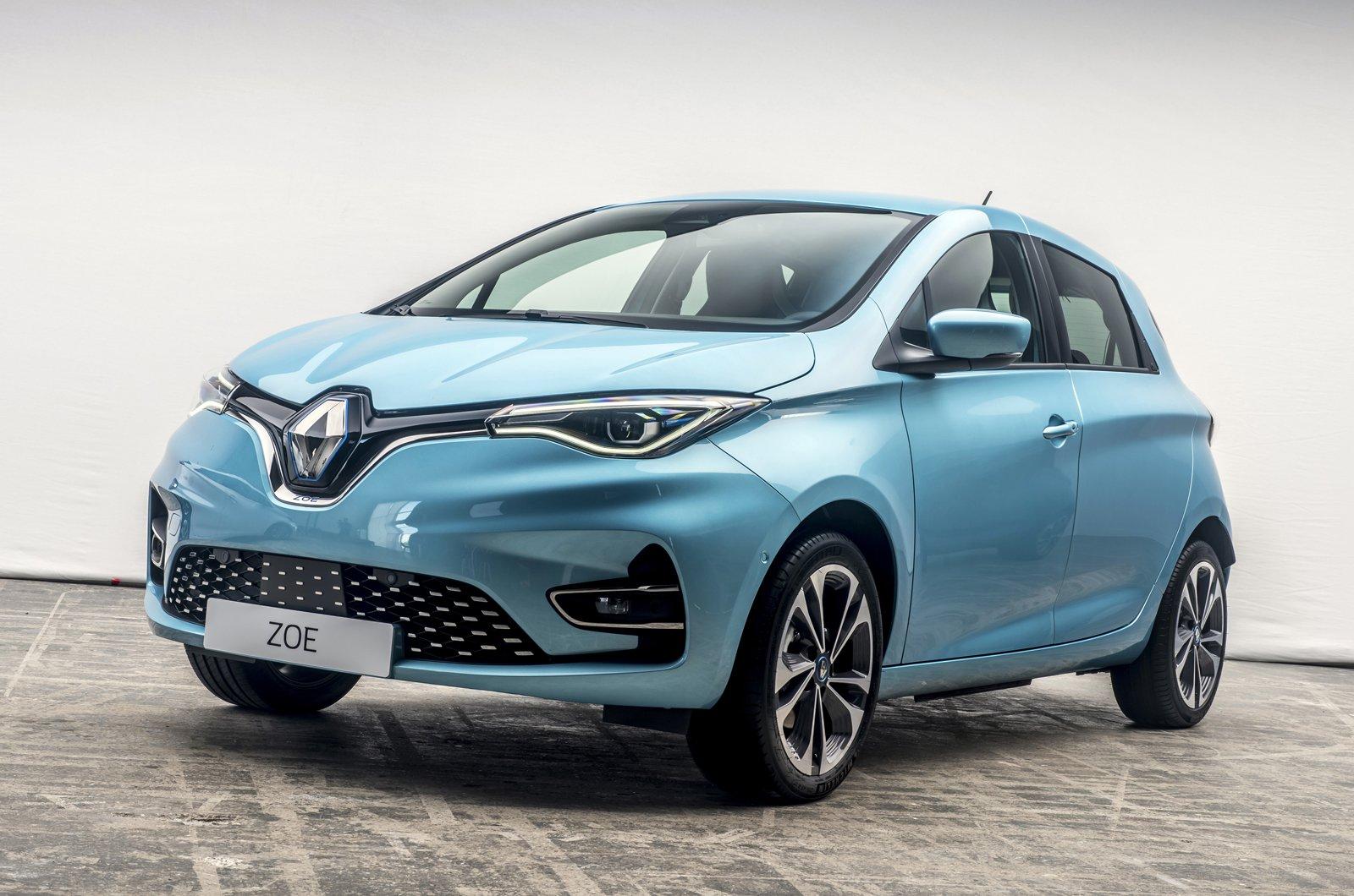 2020 Renault Zoe front