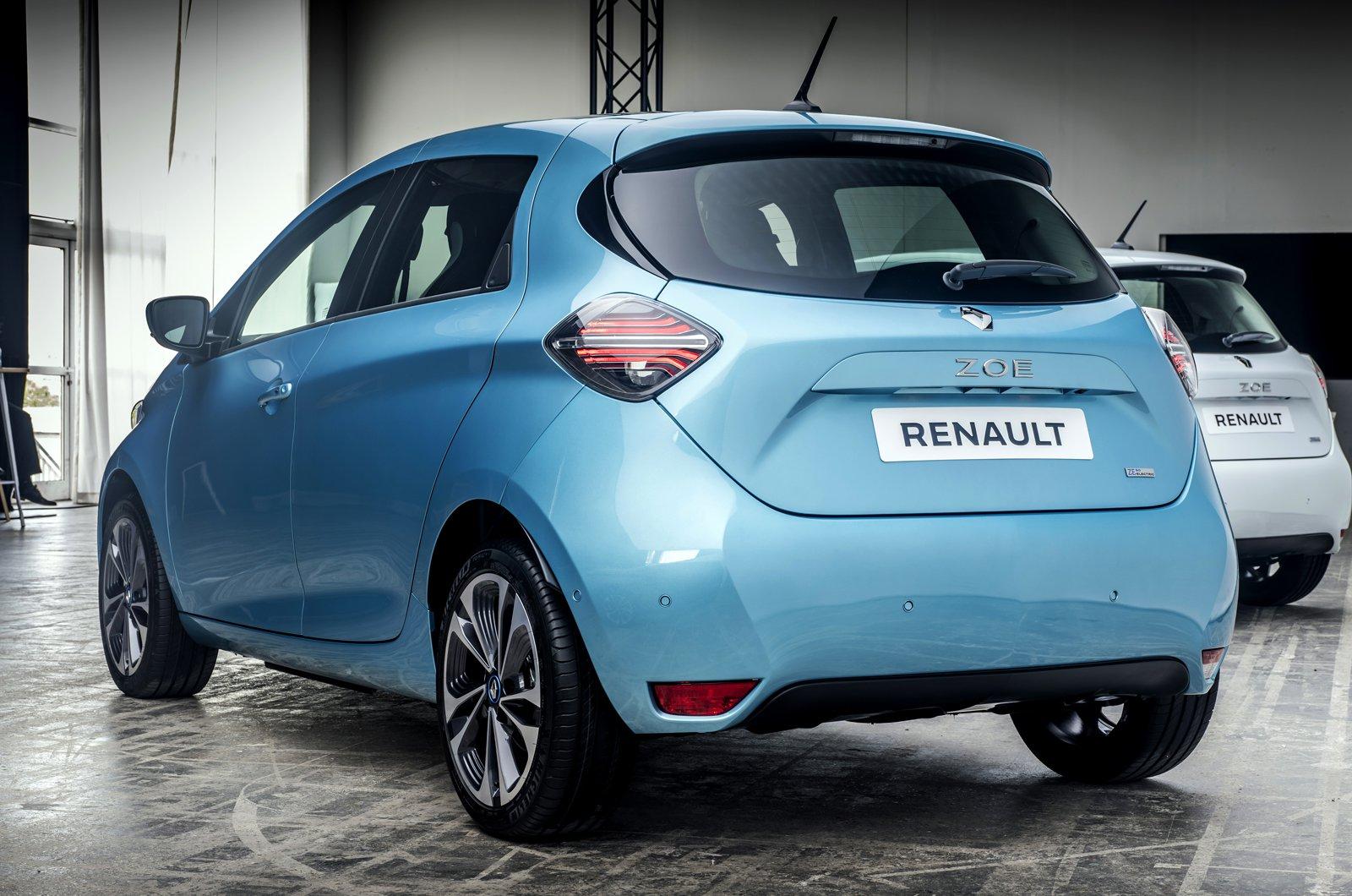 2020 Renault Zoe rear