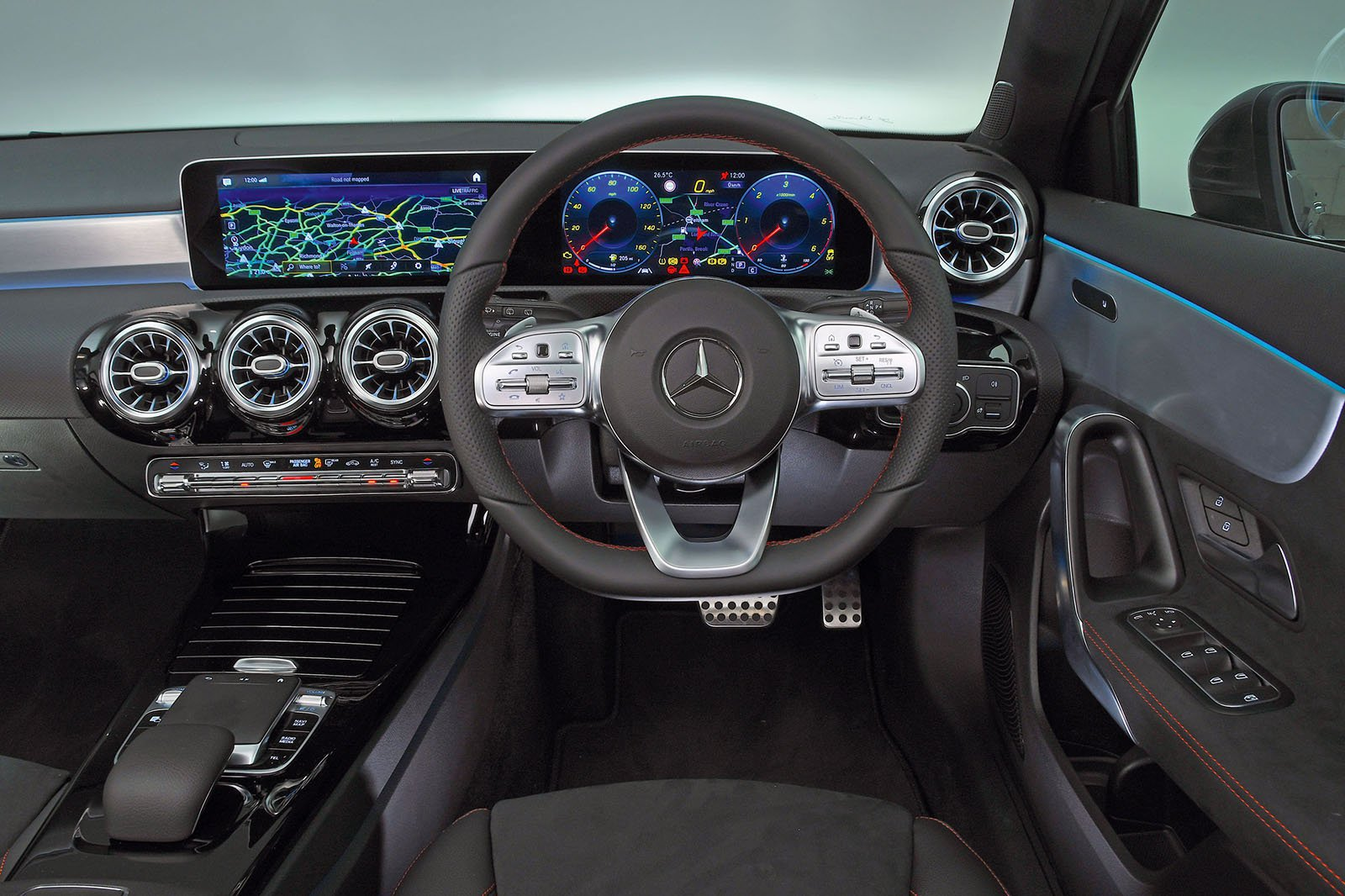 Mercedes A-Class A180 Sport Executive - interior