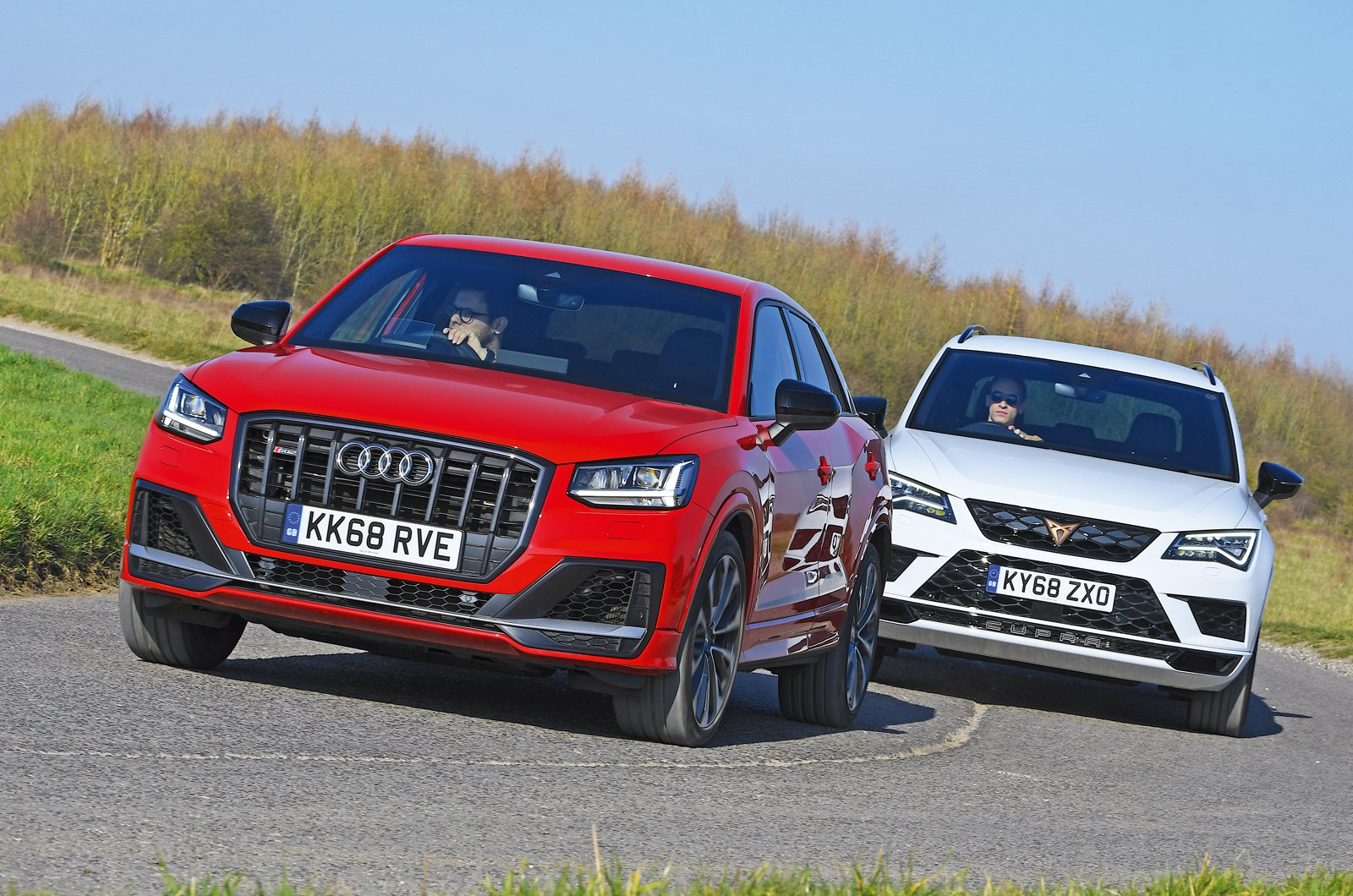 New Audi SQ2 vs Cupra Ateca