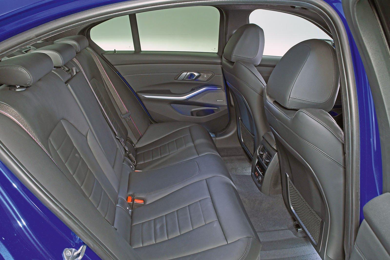 BMW 3 Series back seats