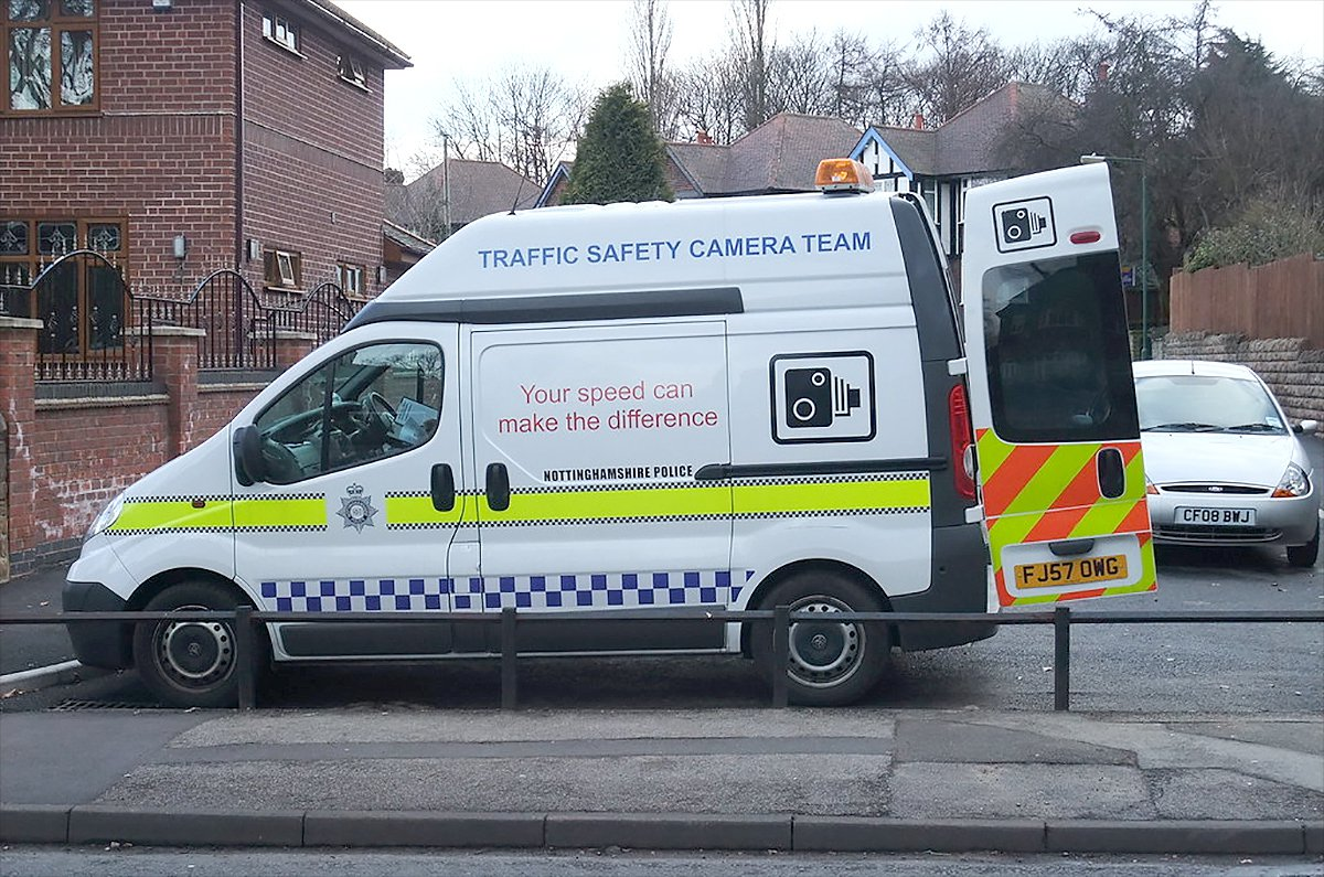 Speed camera van (Lee Haywood)