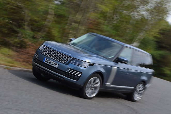Range Rover front