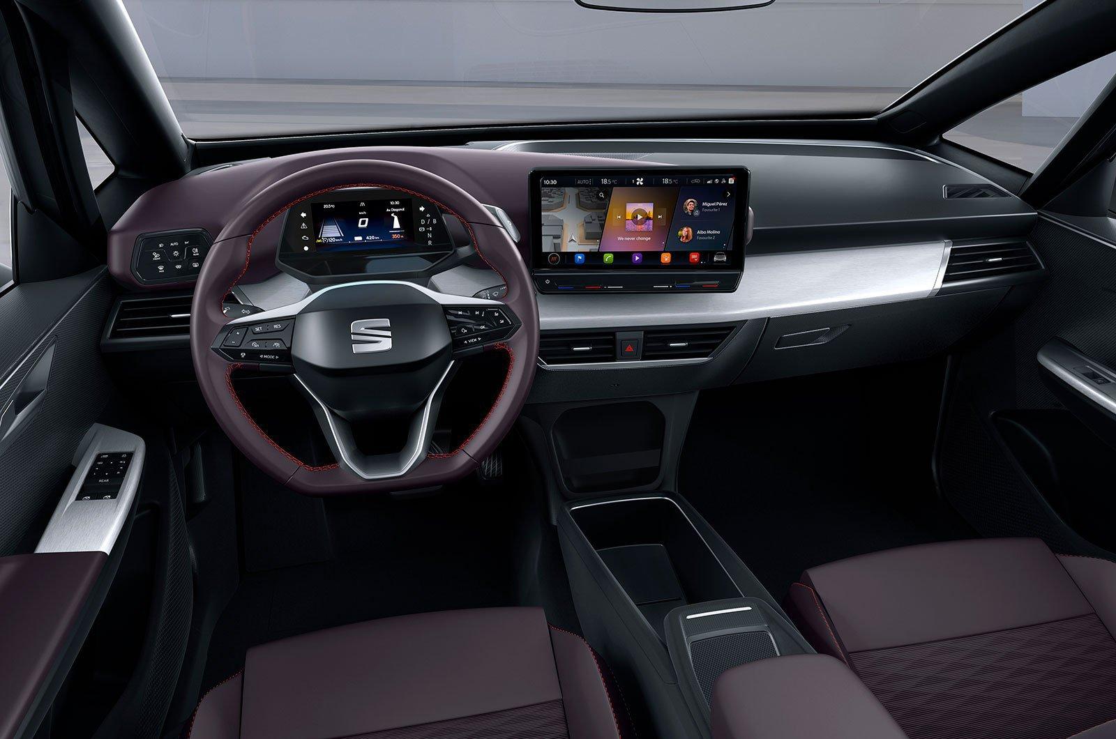 Seat elBorn dashboard