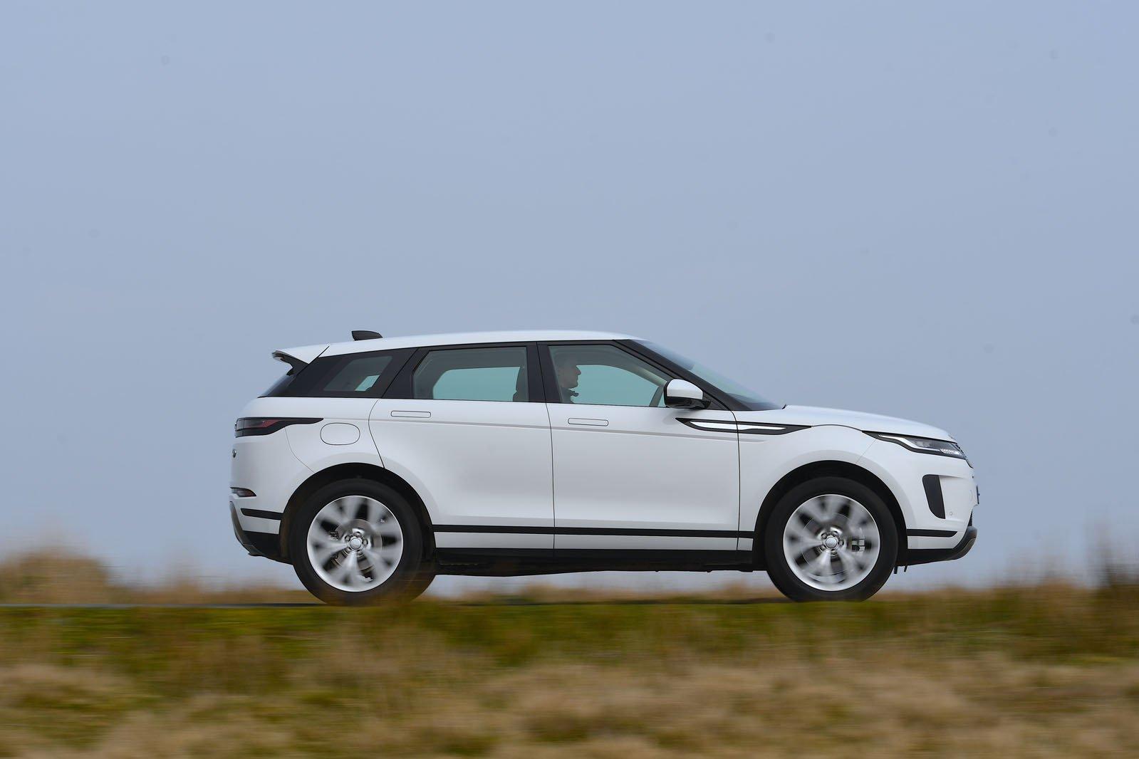 Range Rover Evoque driving