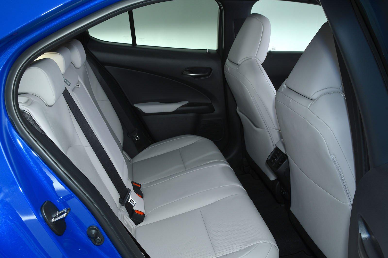 Lexus UX rear seats