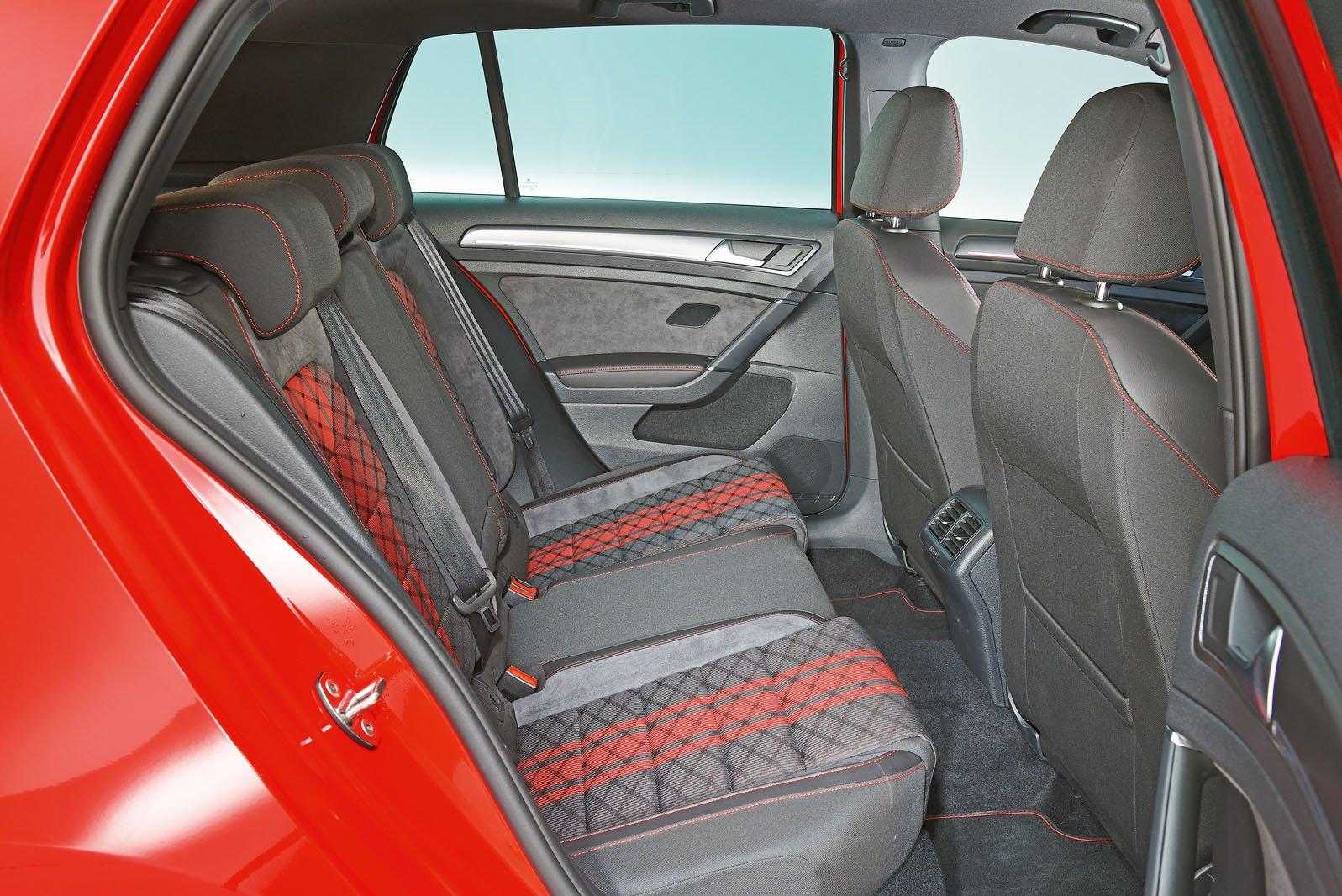 Volkswagen Golf GTI rear seats