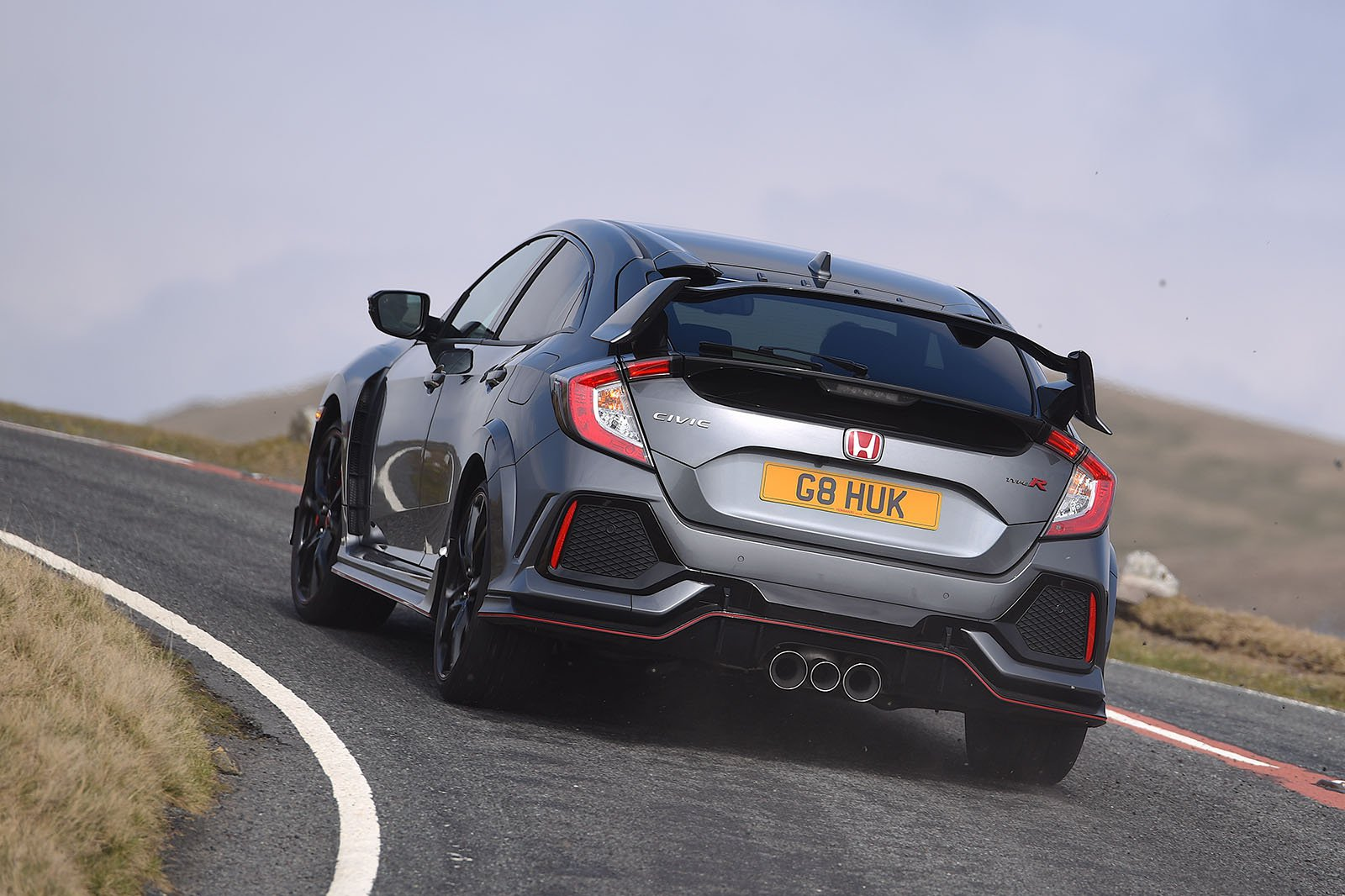Honda Civic Type R rear