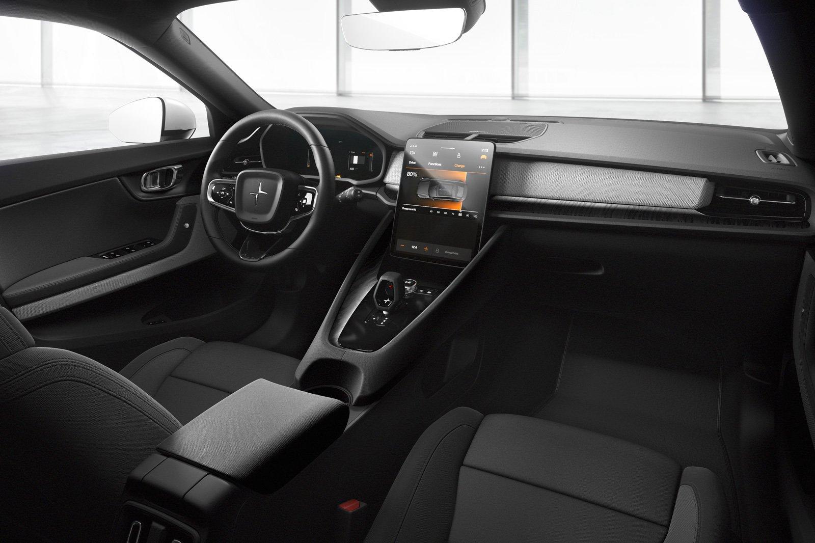 2020 Polestar 2 interior