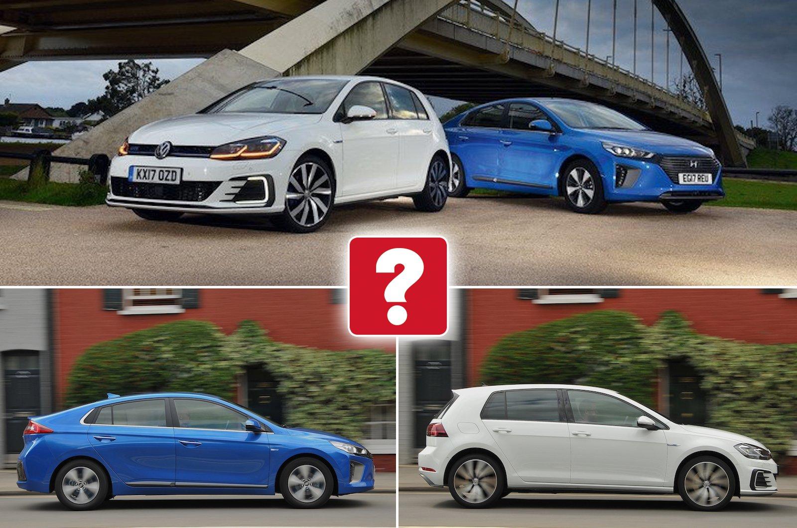 Used test: Hyundai Ioniq Plug-in vs Volkswagen Golf GTE