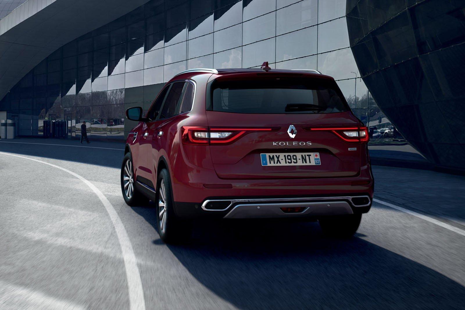 Renault Koleos rear