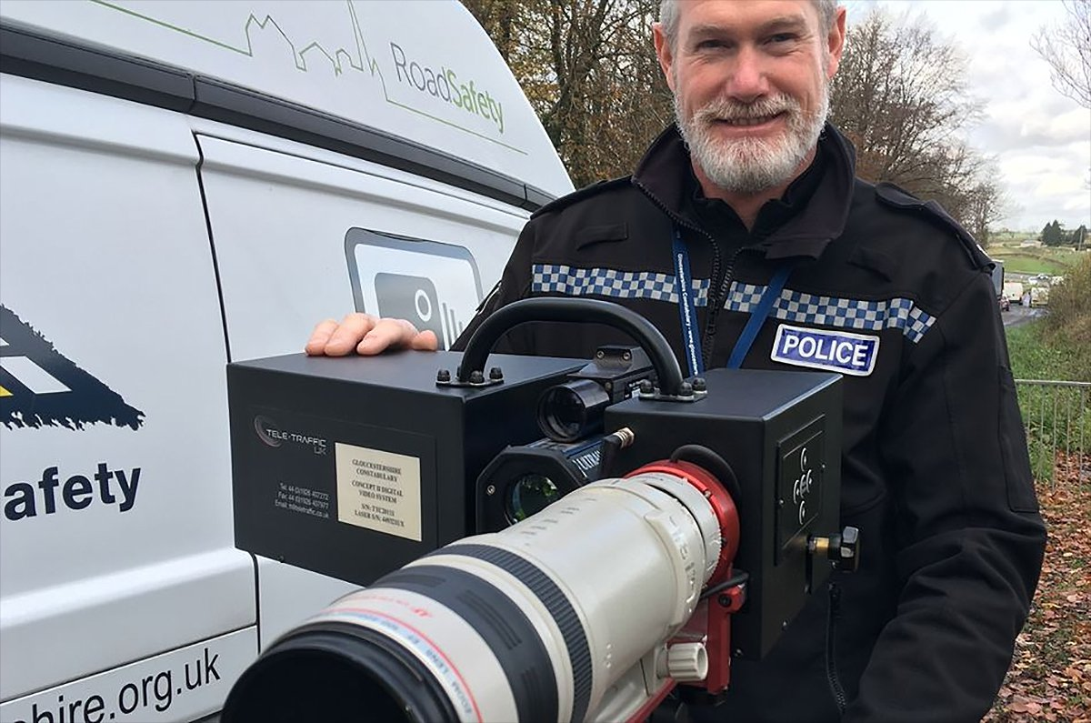Long Ranger camera (Gloucestershire Police)