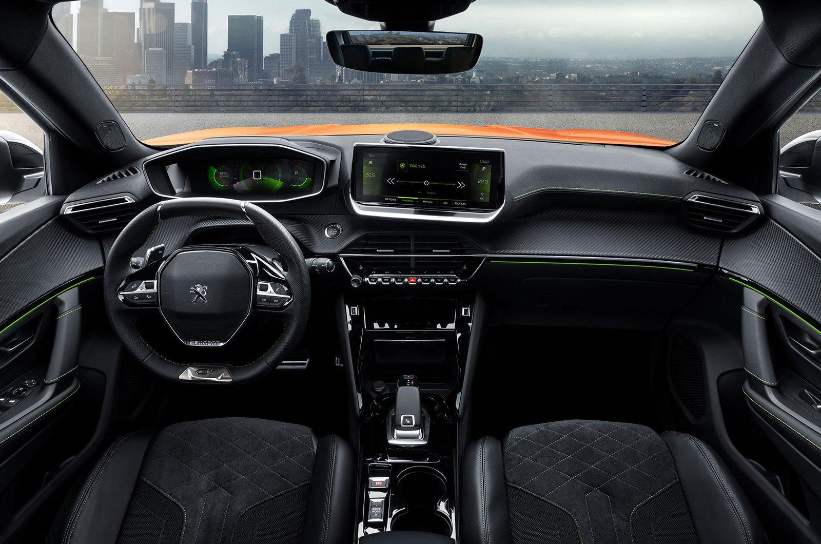 2020 Peugeot 2008 interior