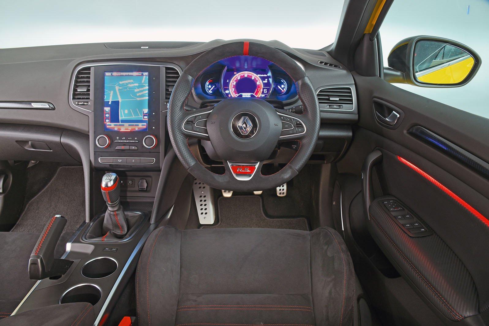 Renault Megane RS interior