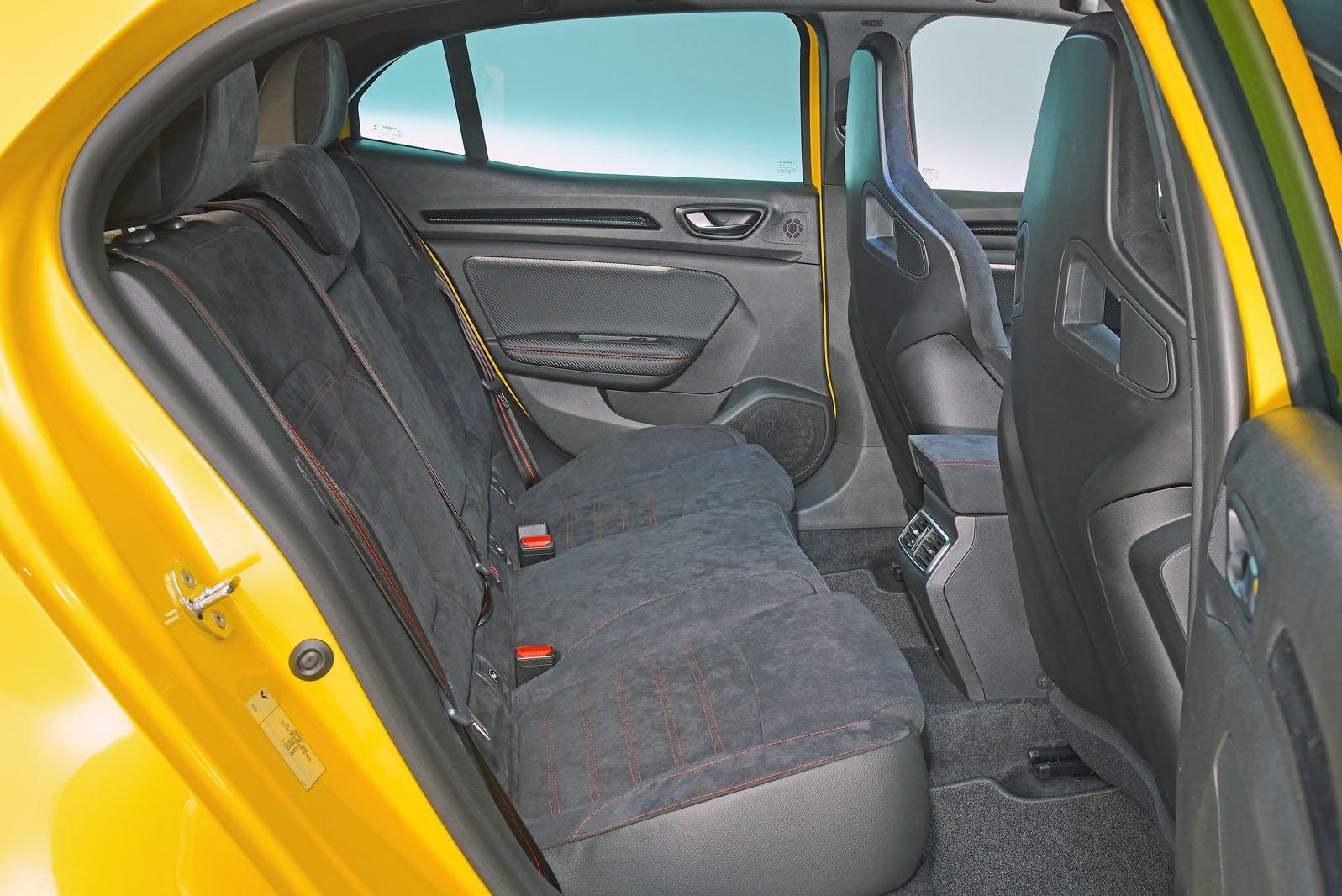 Renault Megane RS rear seats