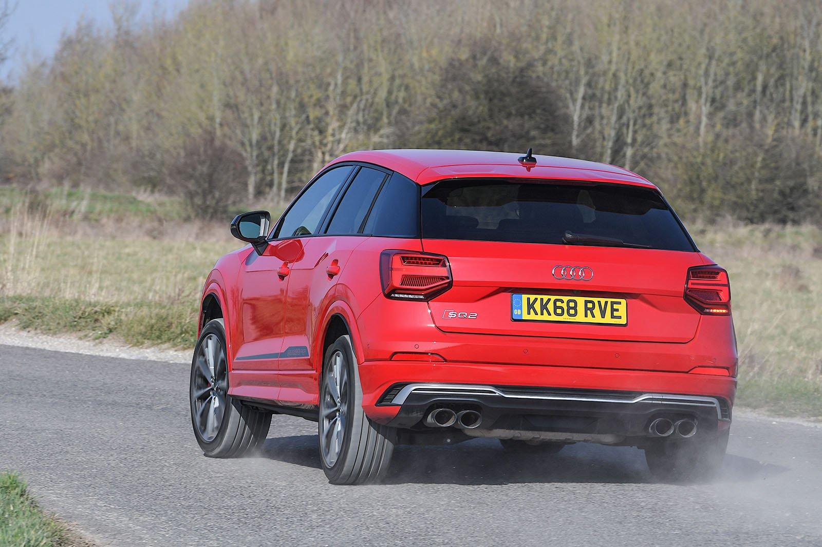 Audi SQ2 rear