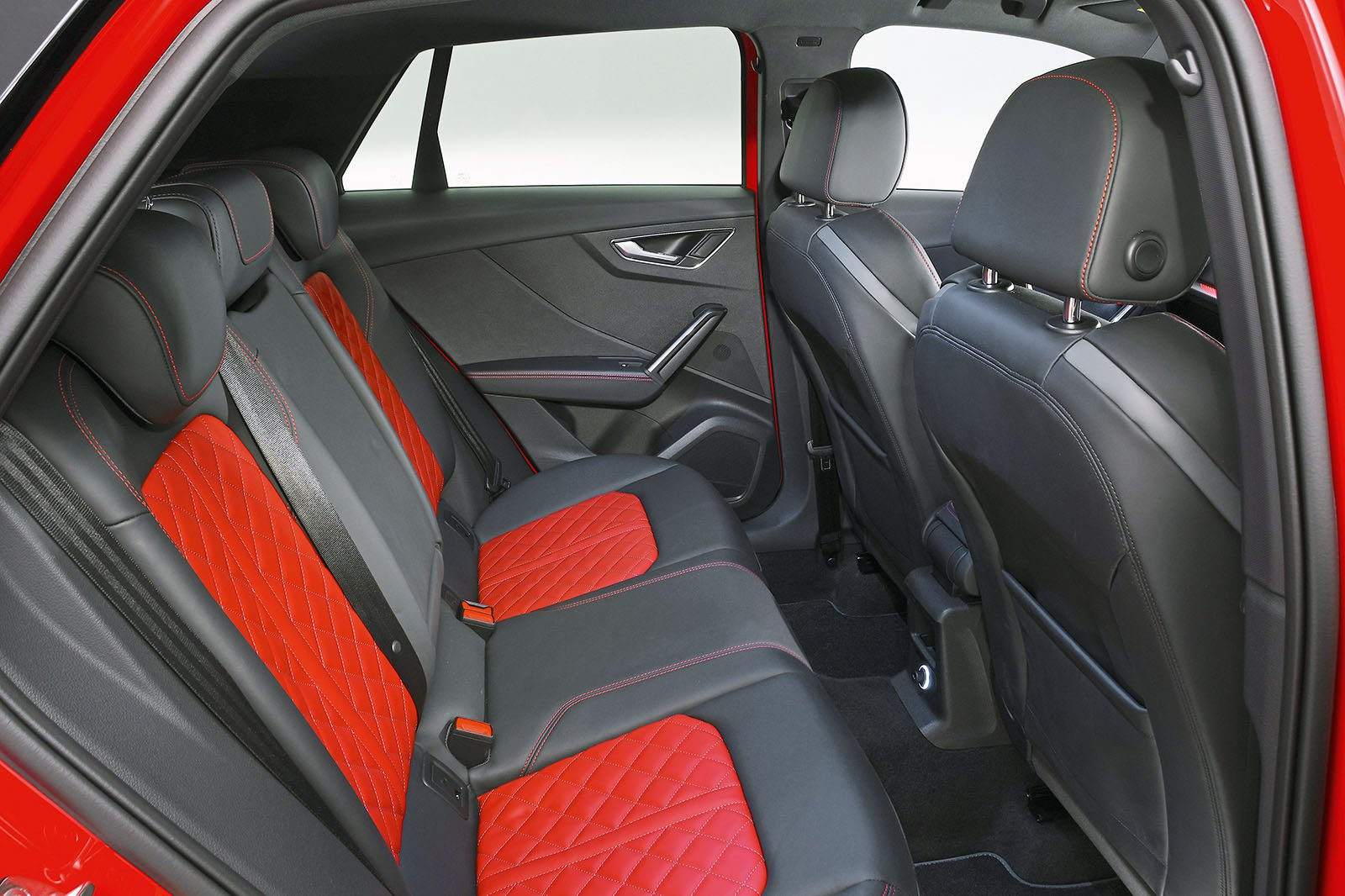 Audi SQ2 rear seats