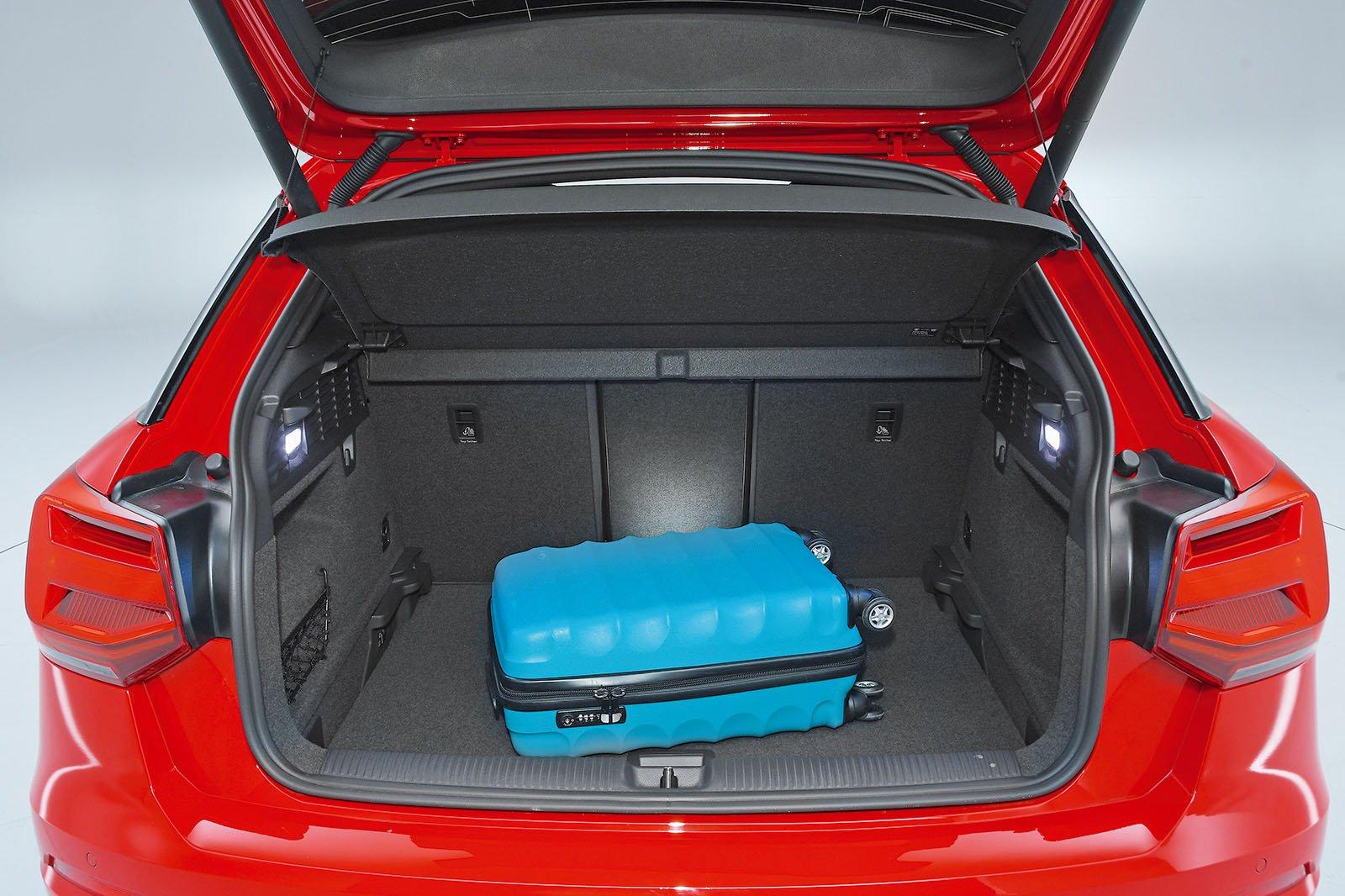 Audi SQ2 boot