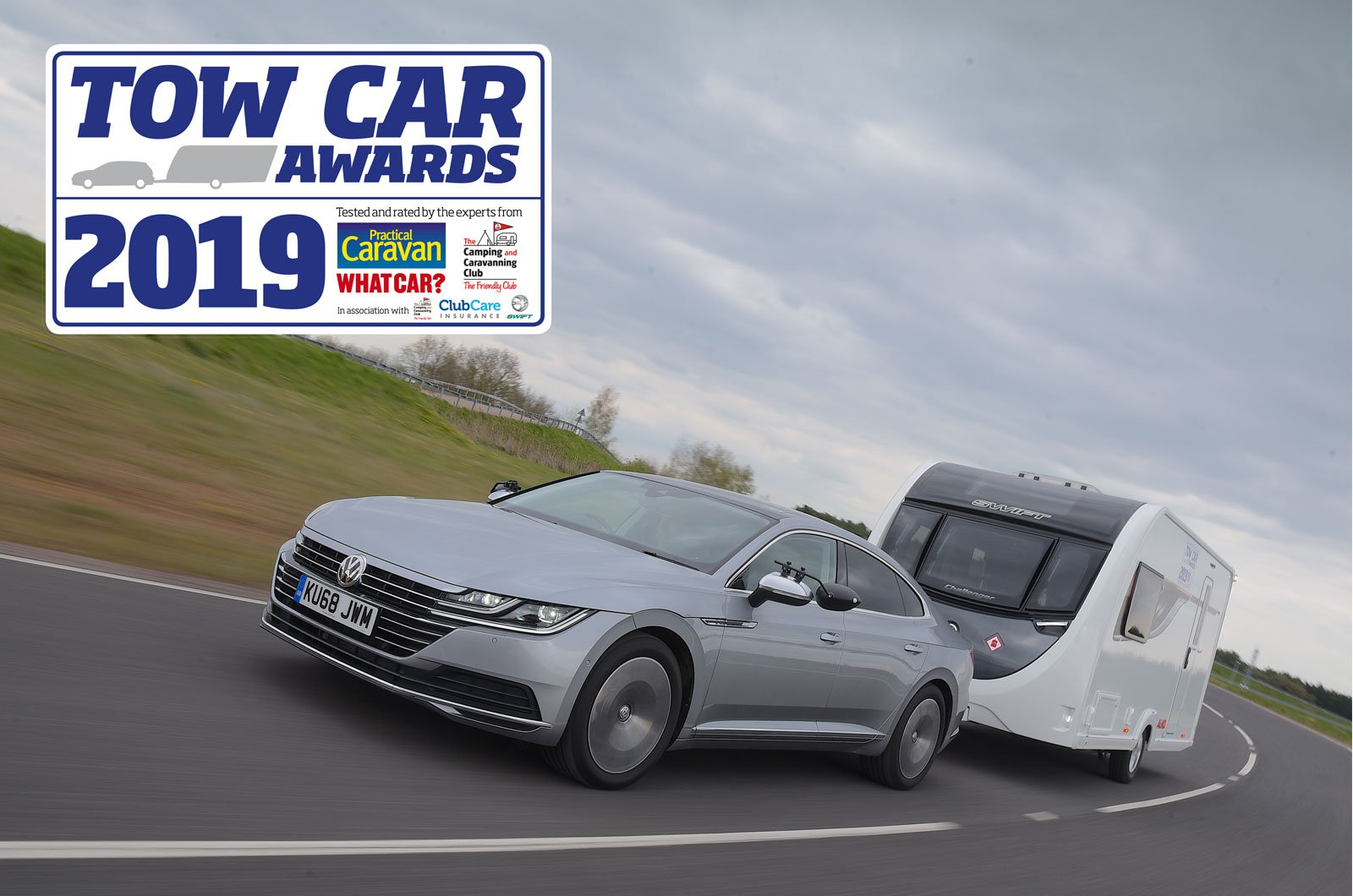 Tow Car Awards 2019 overall winner - Volkswagen Arteon