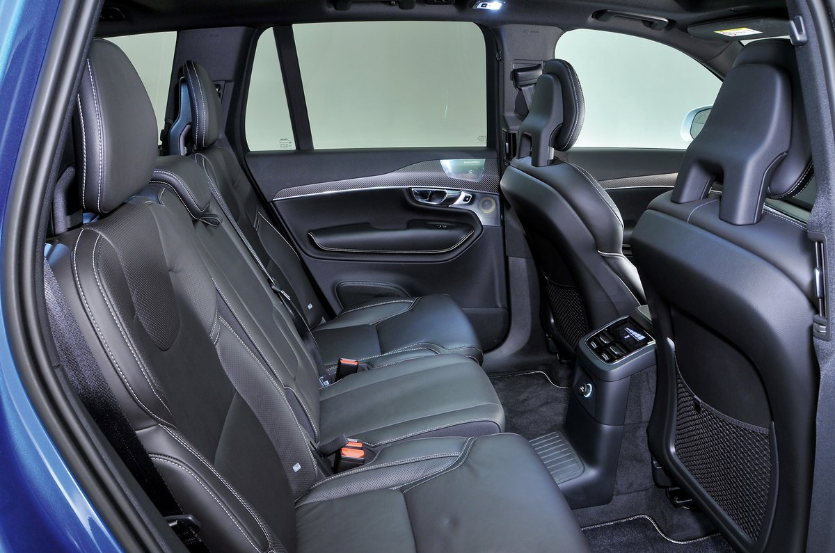 Volvo XC90 rear seats