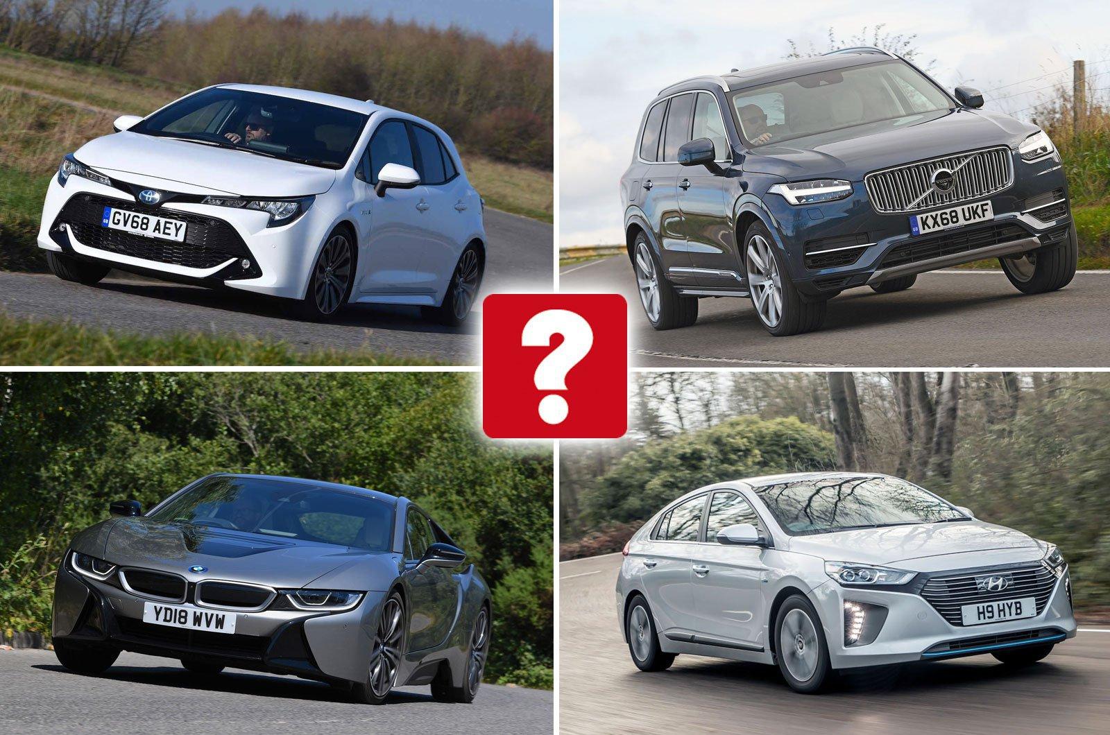 Hybrid cars compilation image