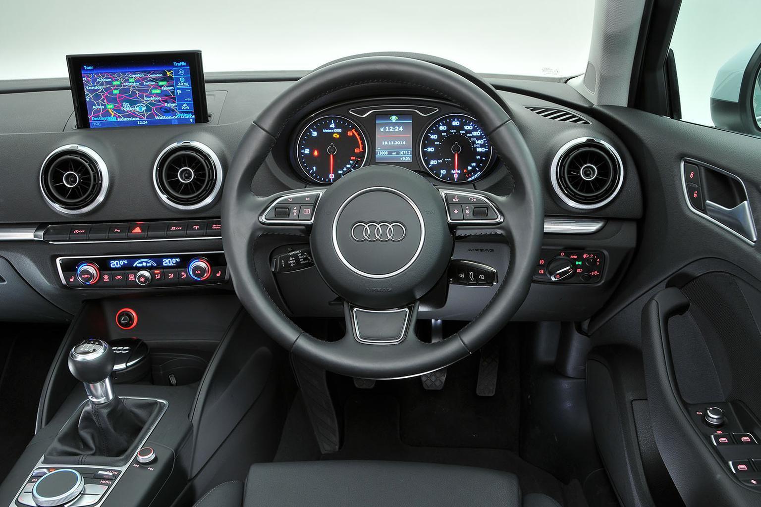 Audi A3 Saloon - interior