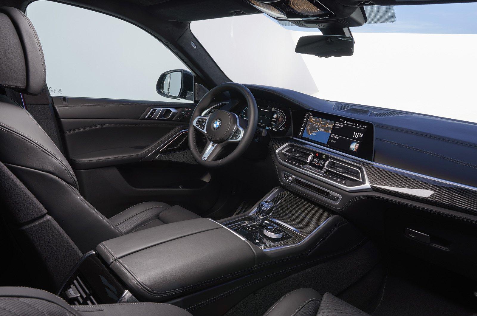2020 BMW X6 dashboard