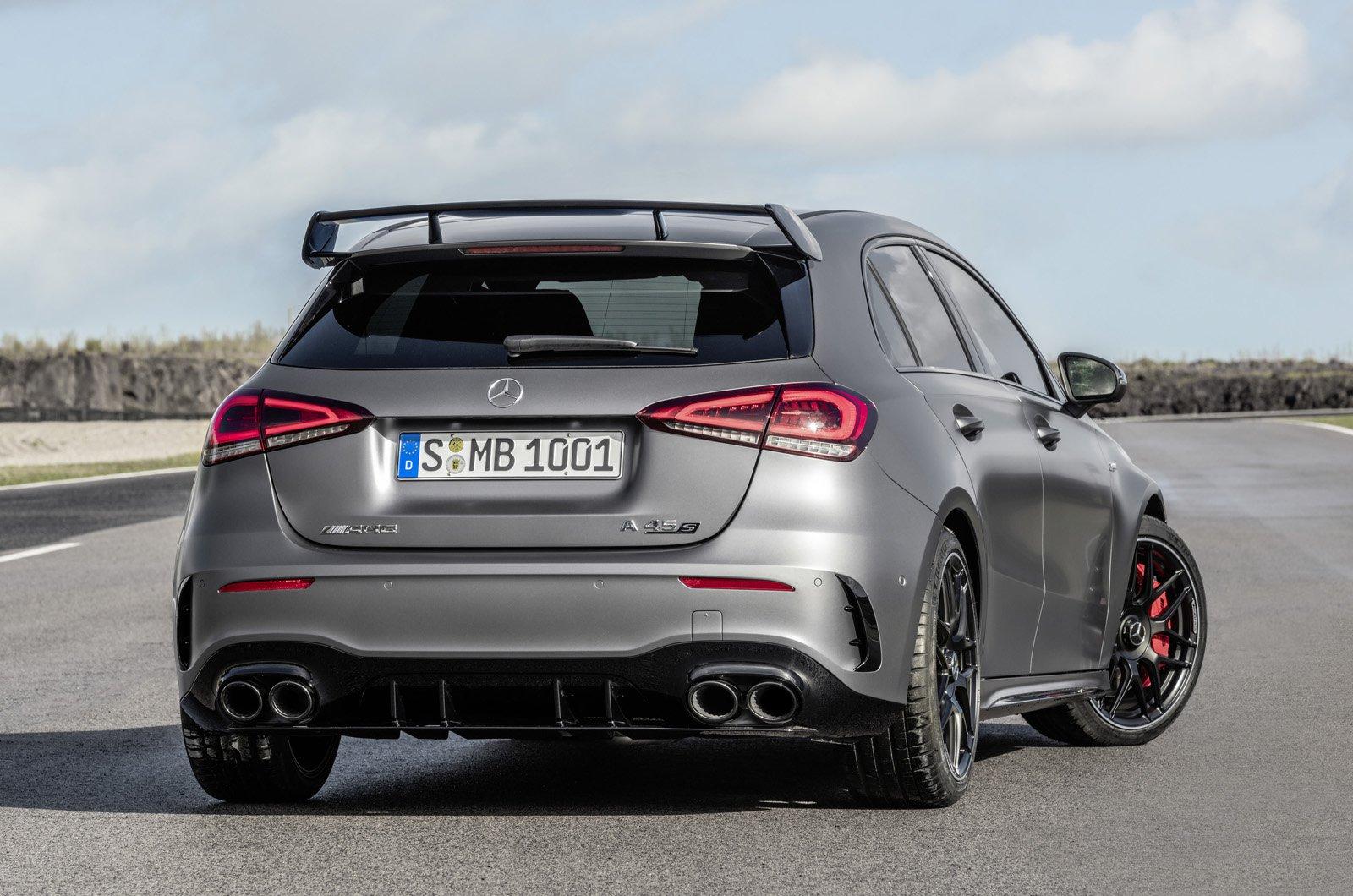 2020 Mercedes-AMG A45 S rear