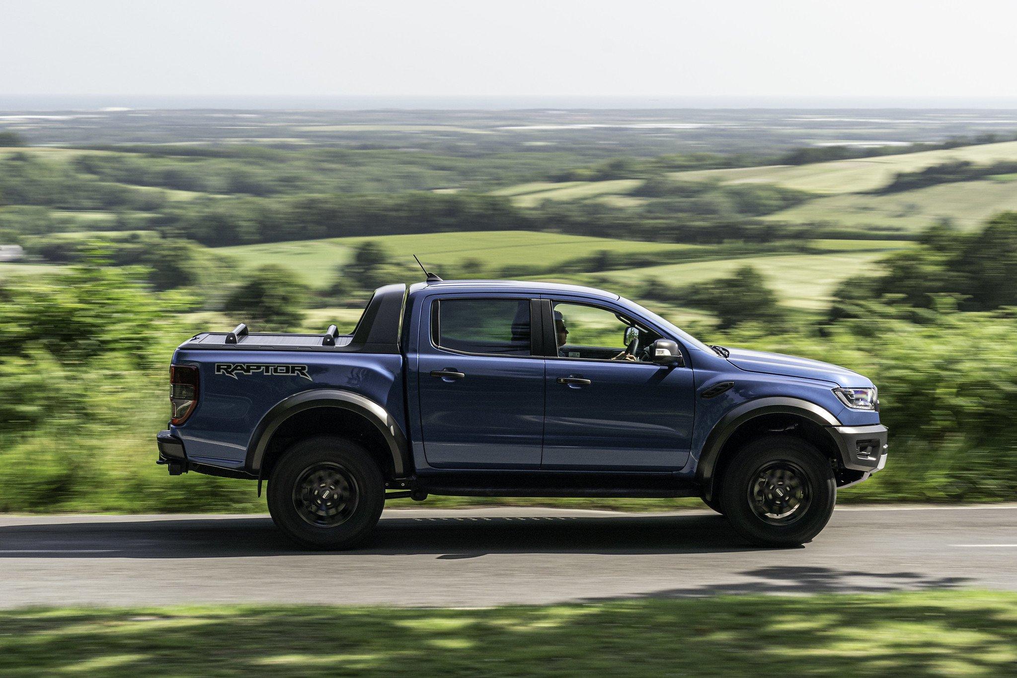 2019 Ford Ranger Raptor side