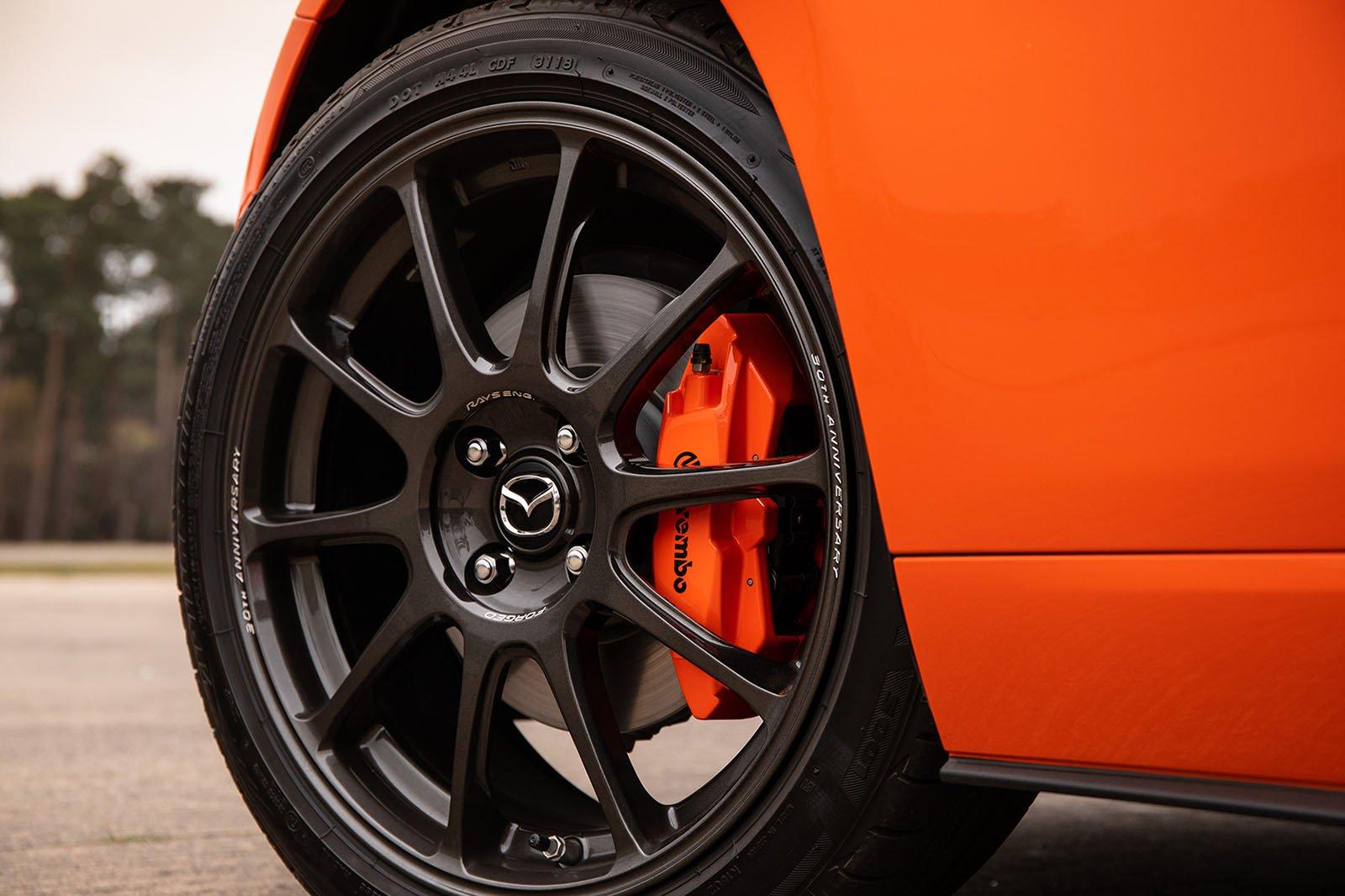 Mazda MX-5 30th Anniversary Edition wheels