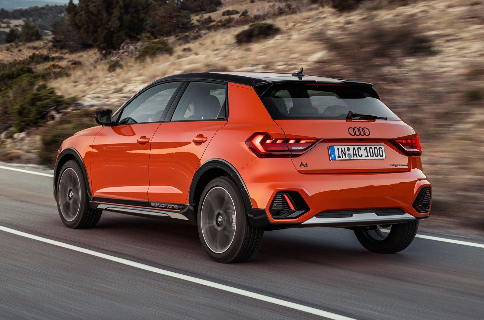 Audi A1 Citycarver rear