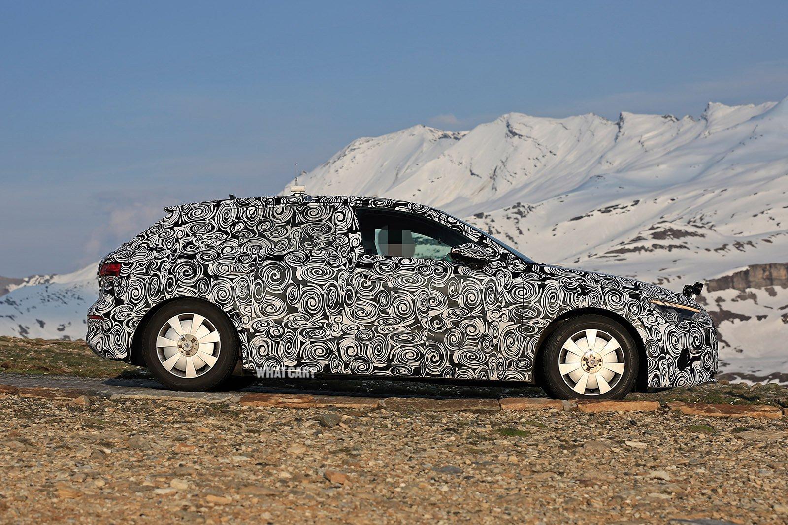 2020 Audi A3 spy shot