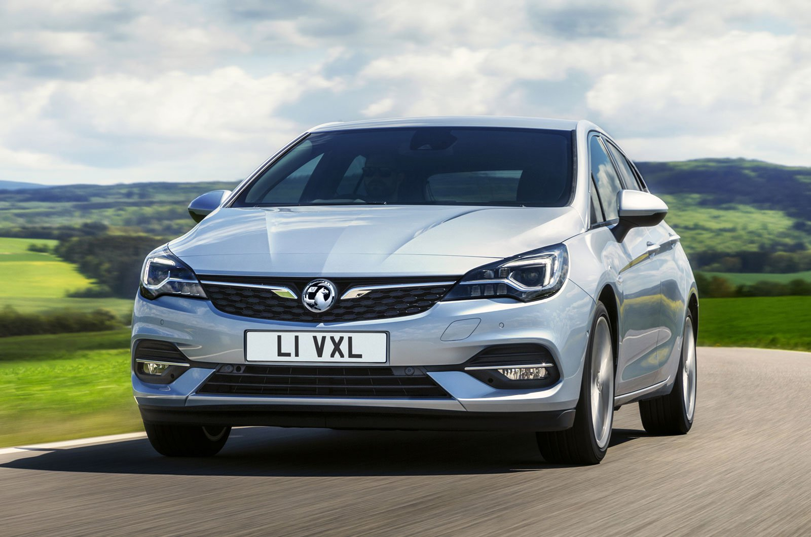 2019 Vauxhall Astra front