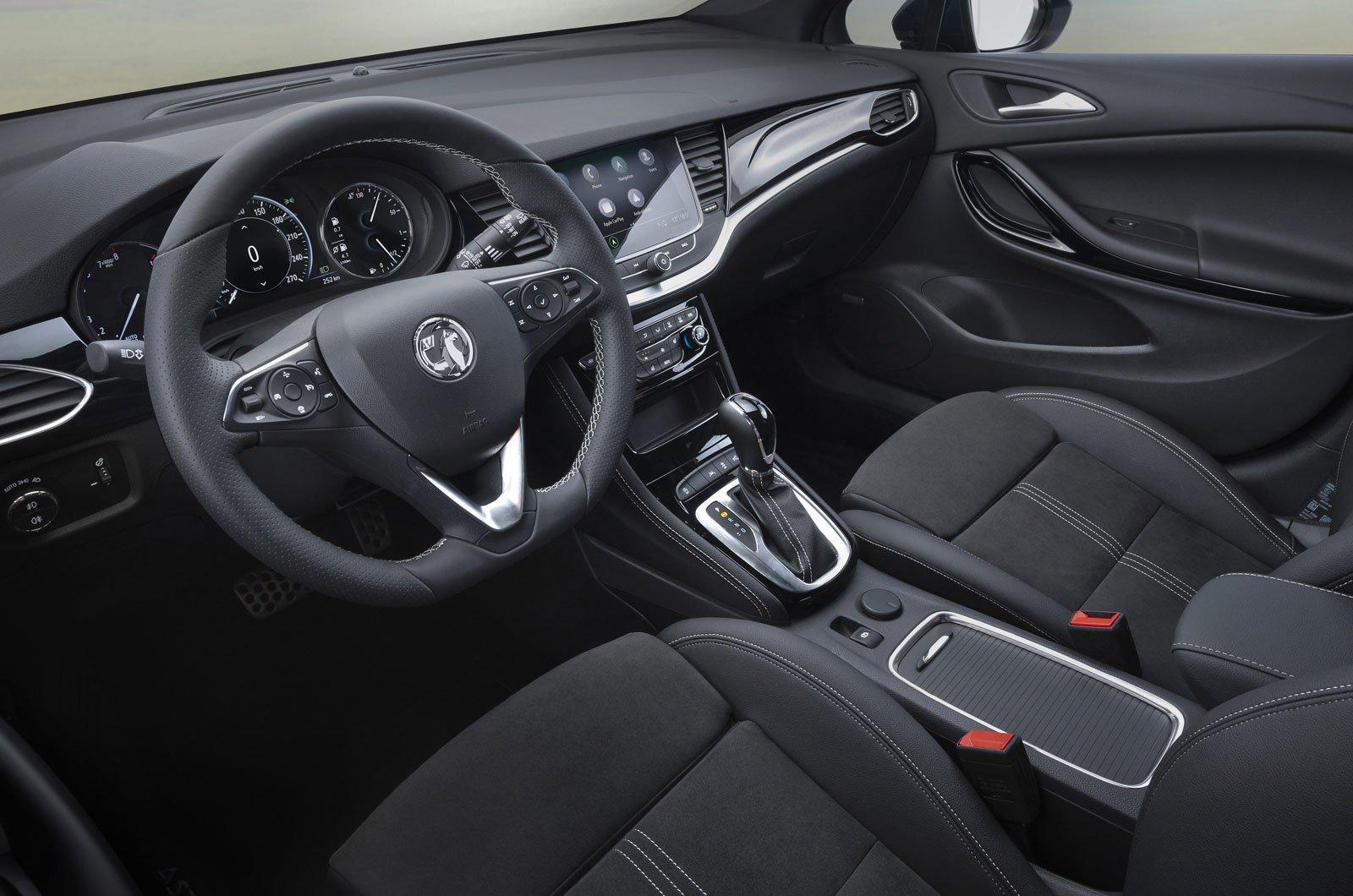 2019 Vauxhall Astra interior