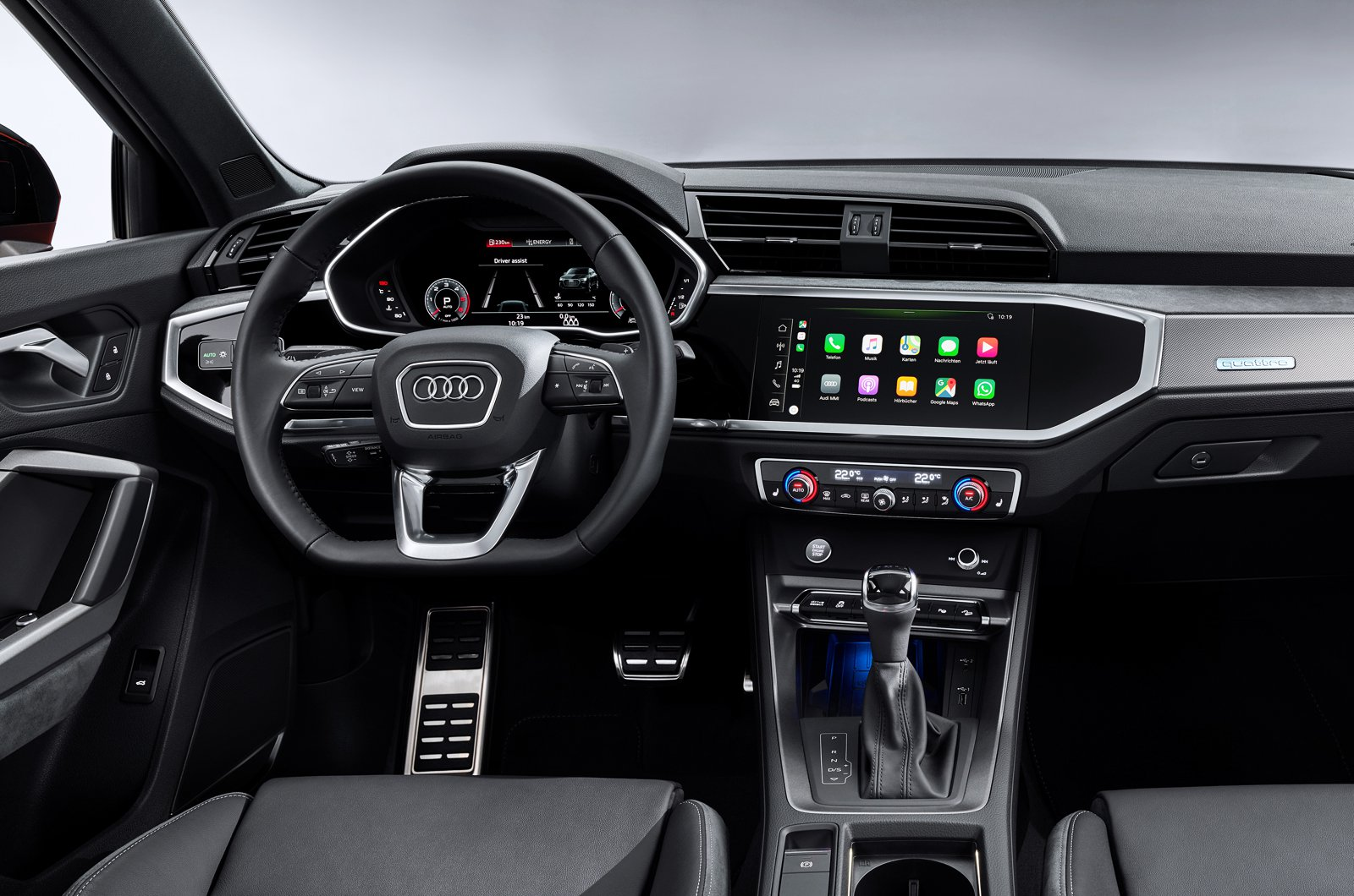 Audi Q3 Sportback dashboard