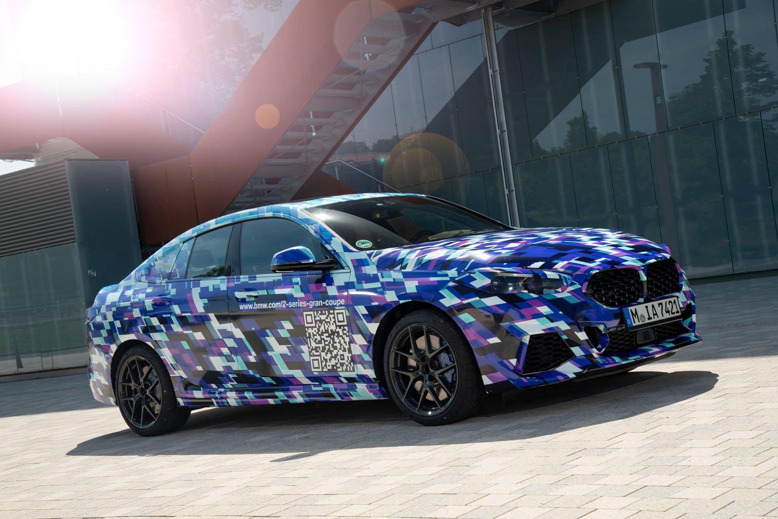 BMW 2 Series Gran Coupé front