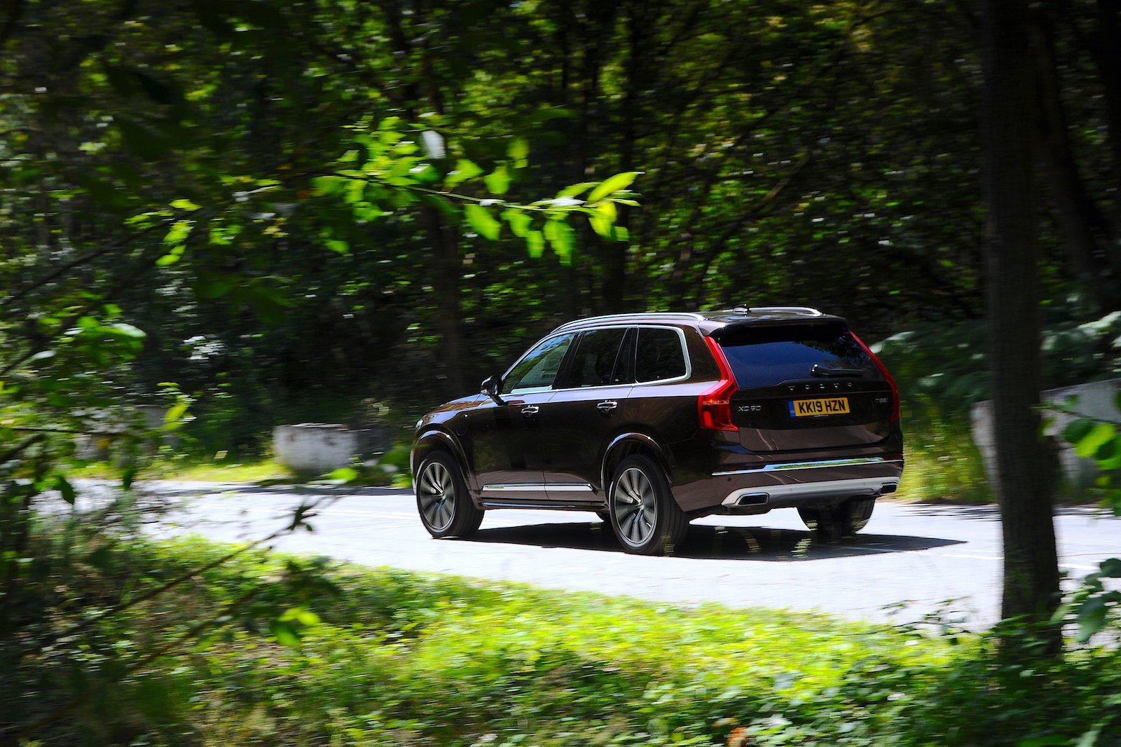 2019 Volvo XC90 long-term rear