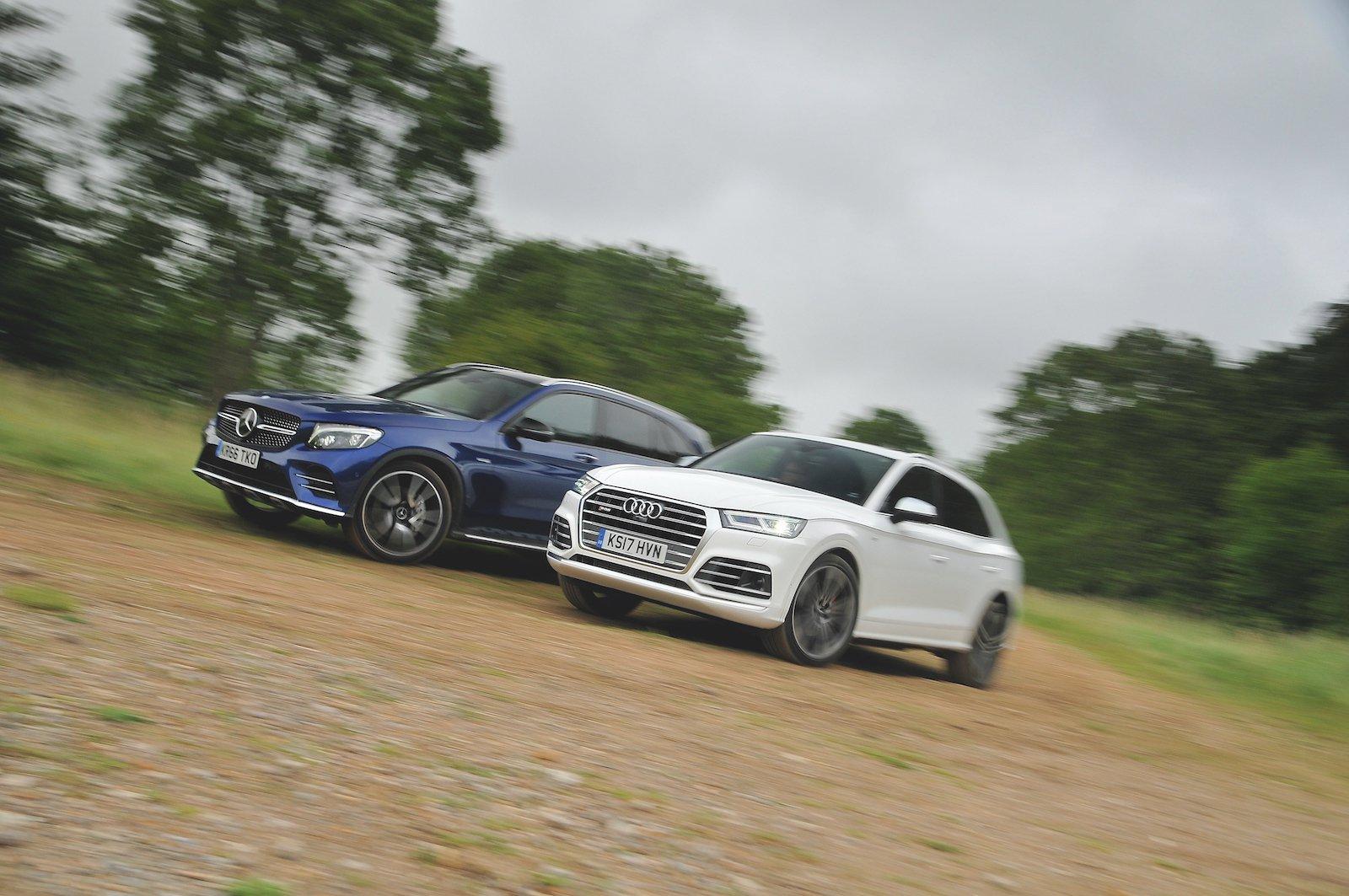 Used test: Audi SQ5 vs Mercedes-AMG GLC 43