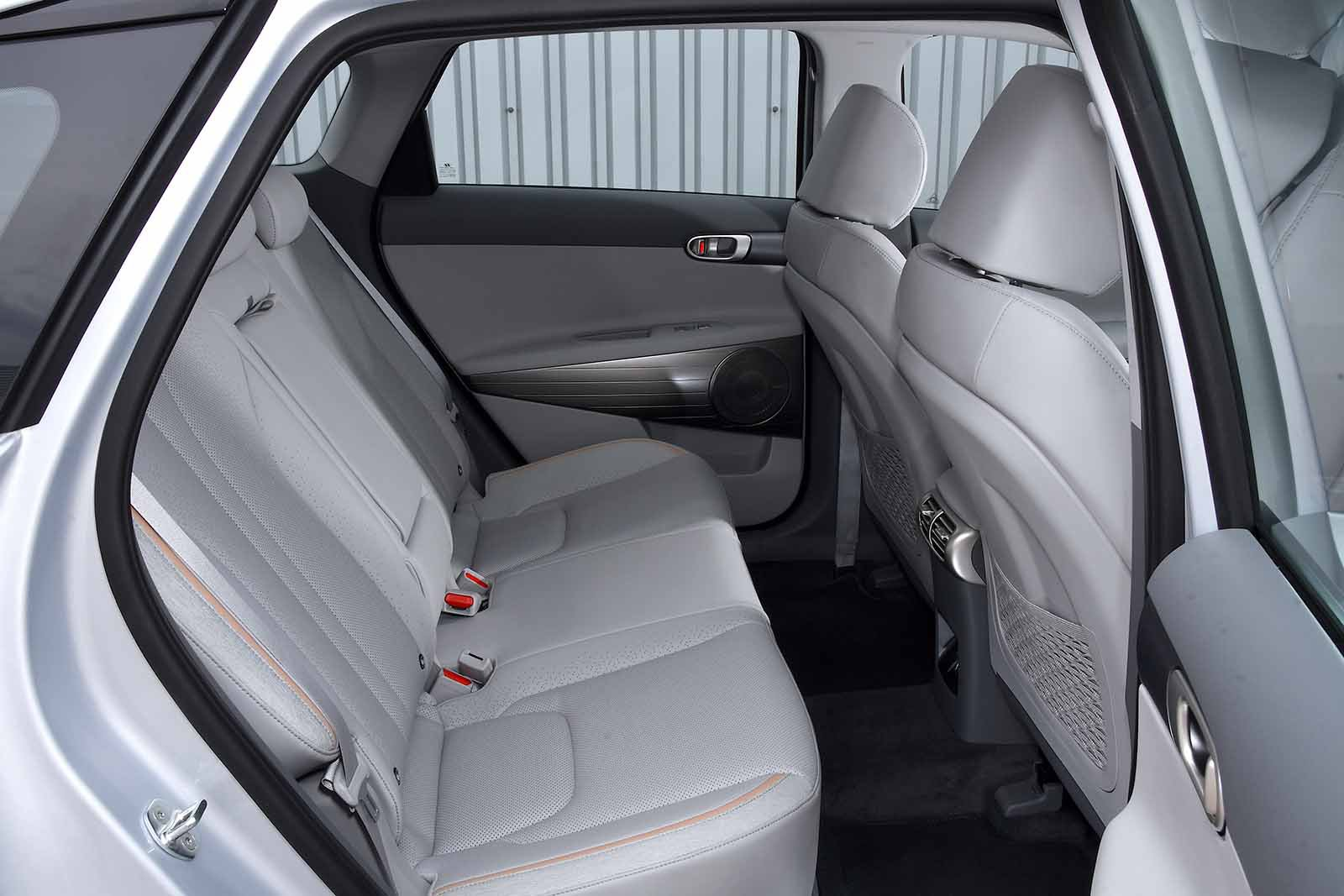 Hyundai Nexo 2019 RHD rear seats