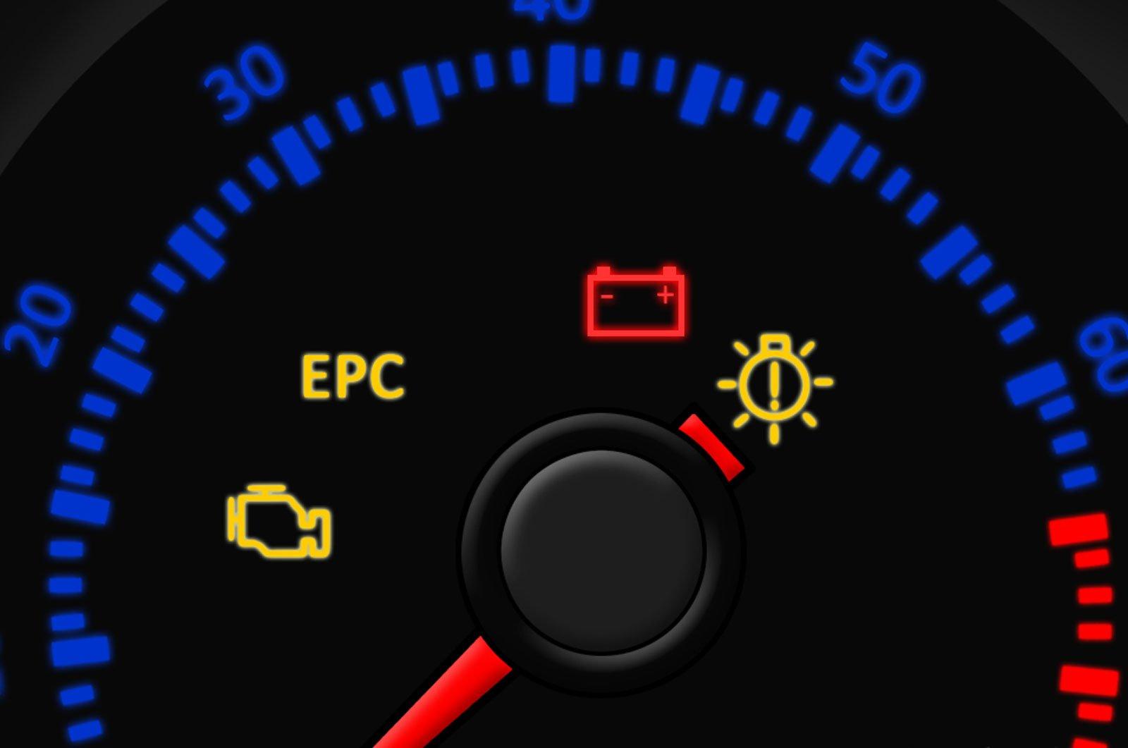 EPC warning light