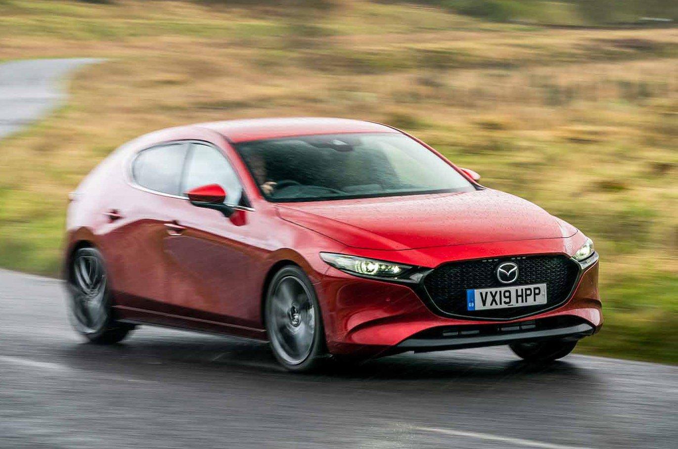 2019 Mazda 3 front